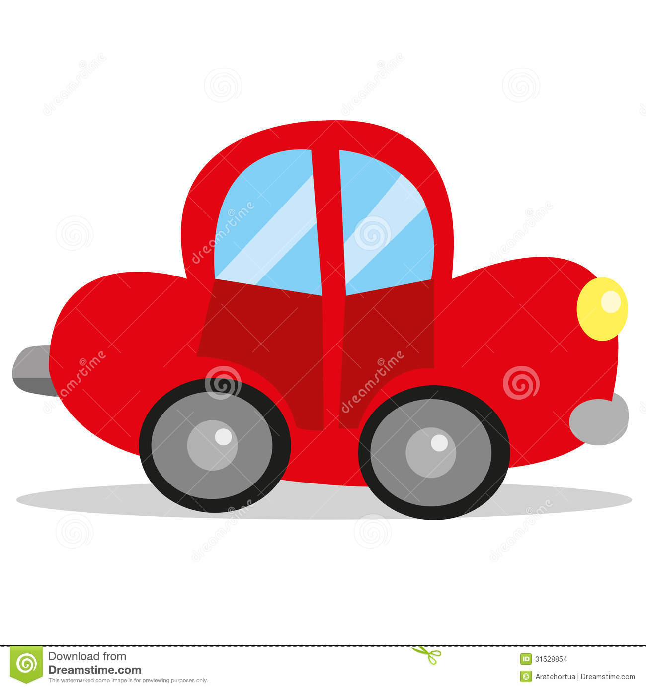 Vector Car Cartoon Stock Vector Illustration Of Funny 31528854