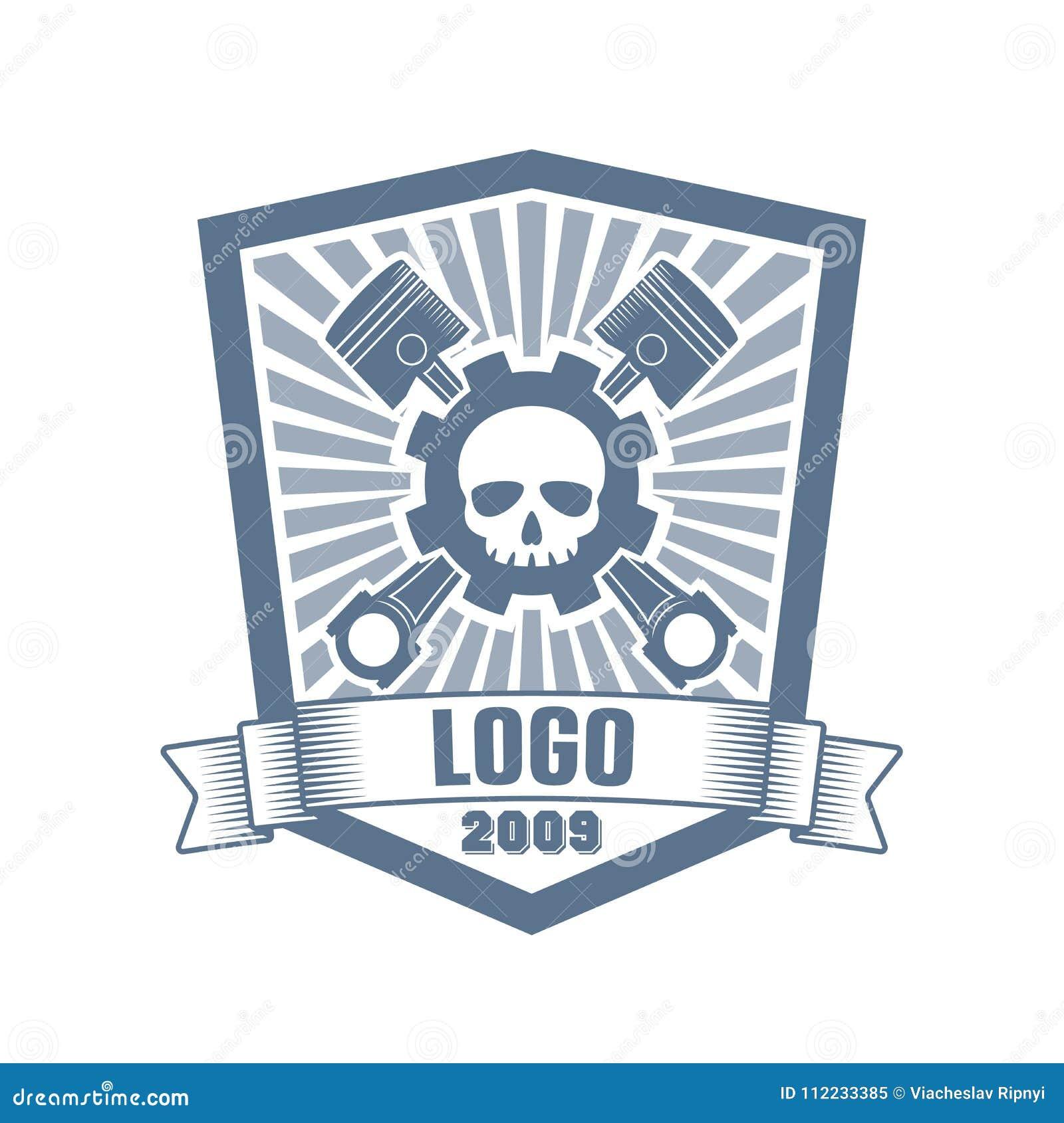 Vector Car Customizing Company Logo Stock Vector Illustration Of