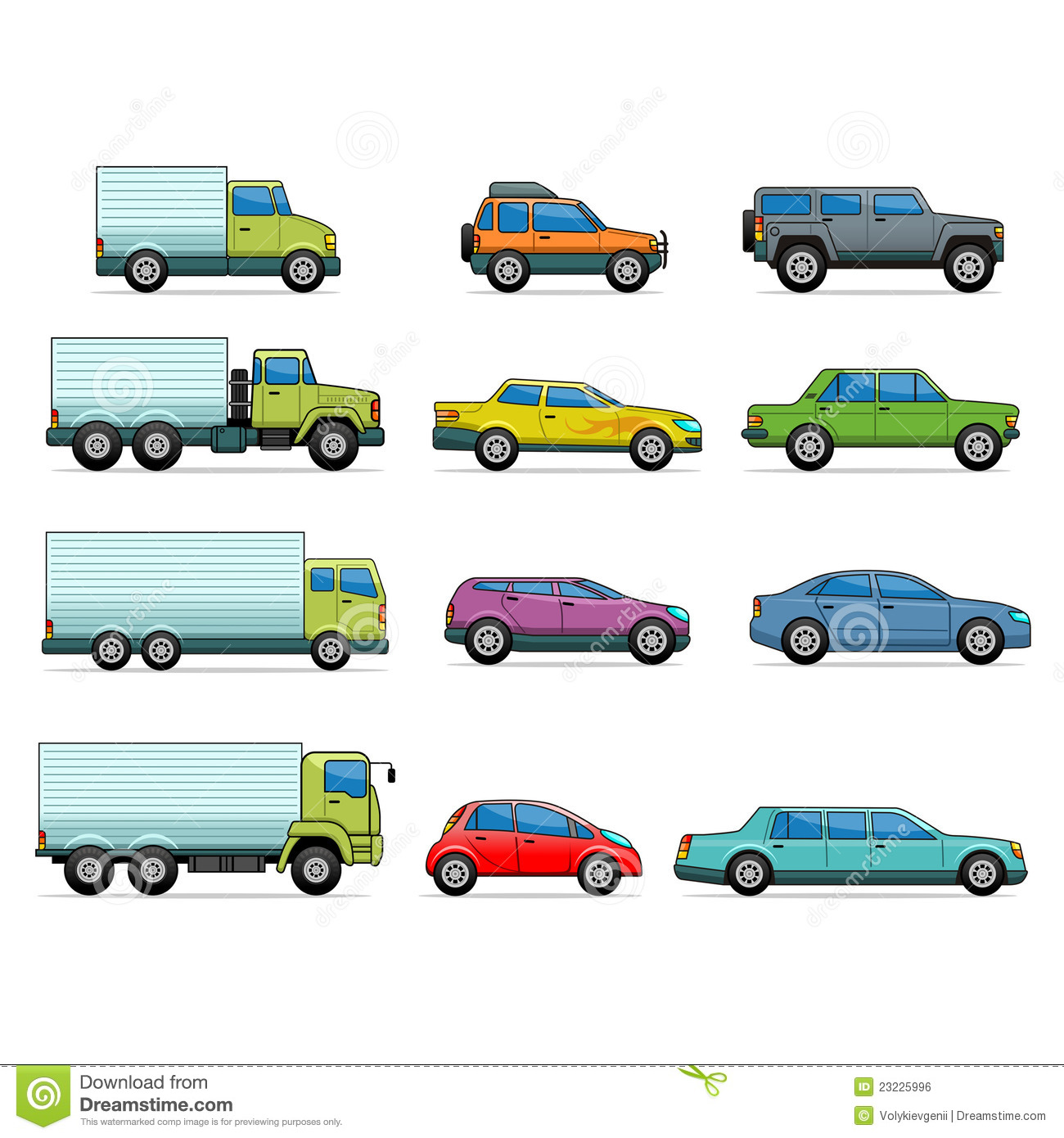 Car Vector Icon Vector car icons Royalty Free