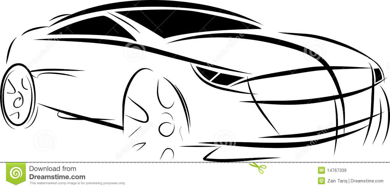 old car cartoon pictures