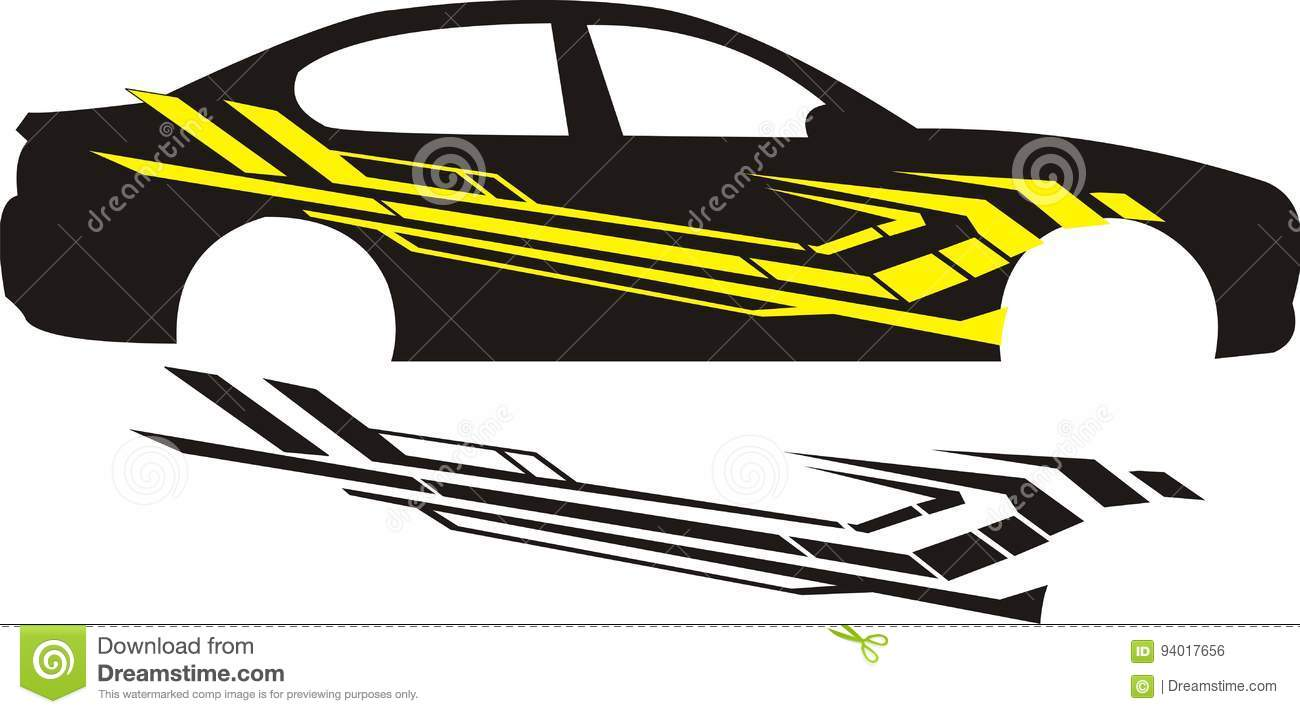 Download vector change colour object change size car application image in your car