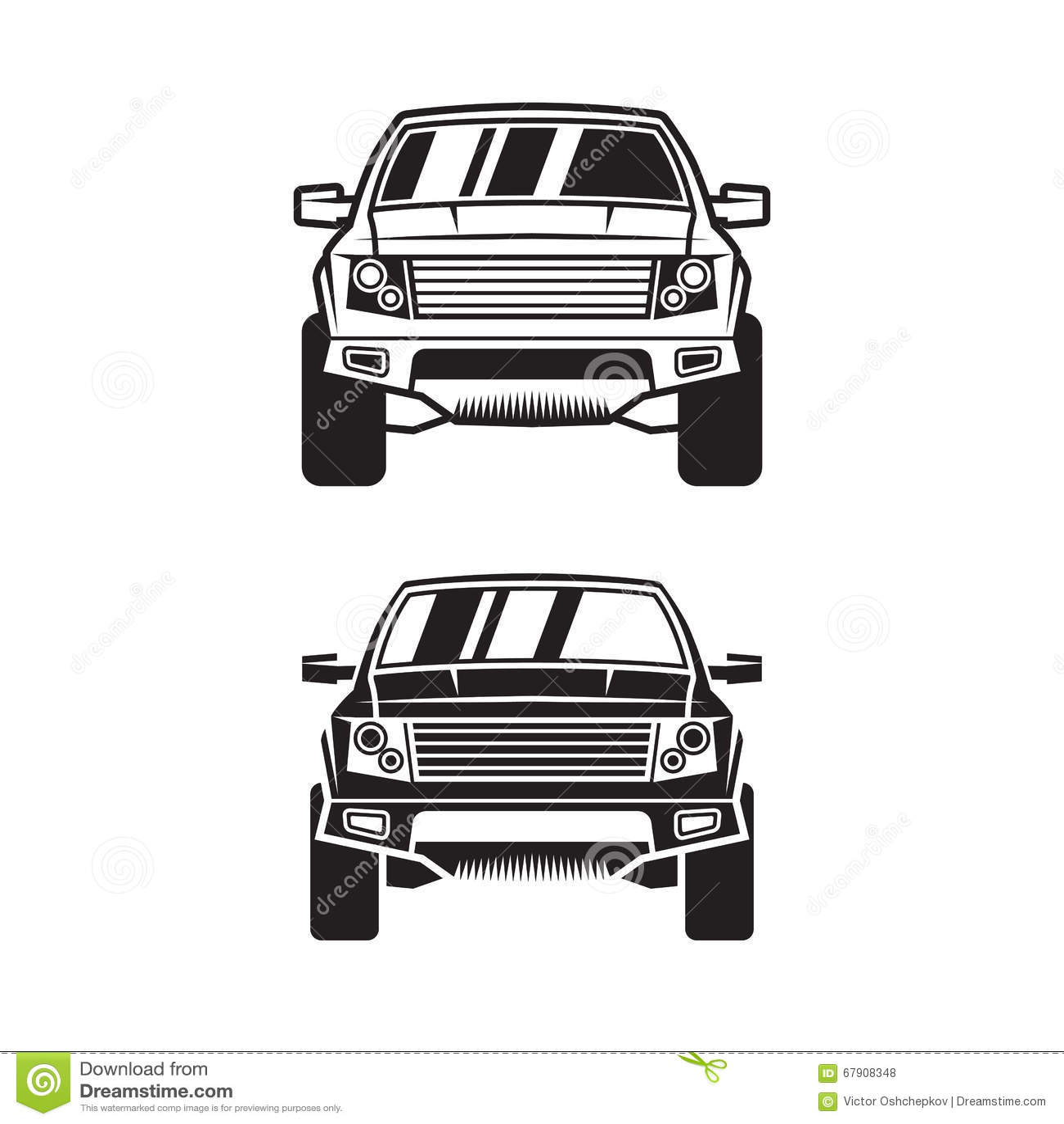 Vector Car Suv Stock Vector Image