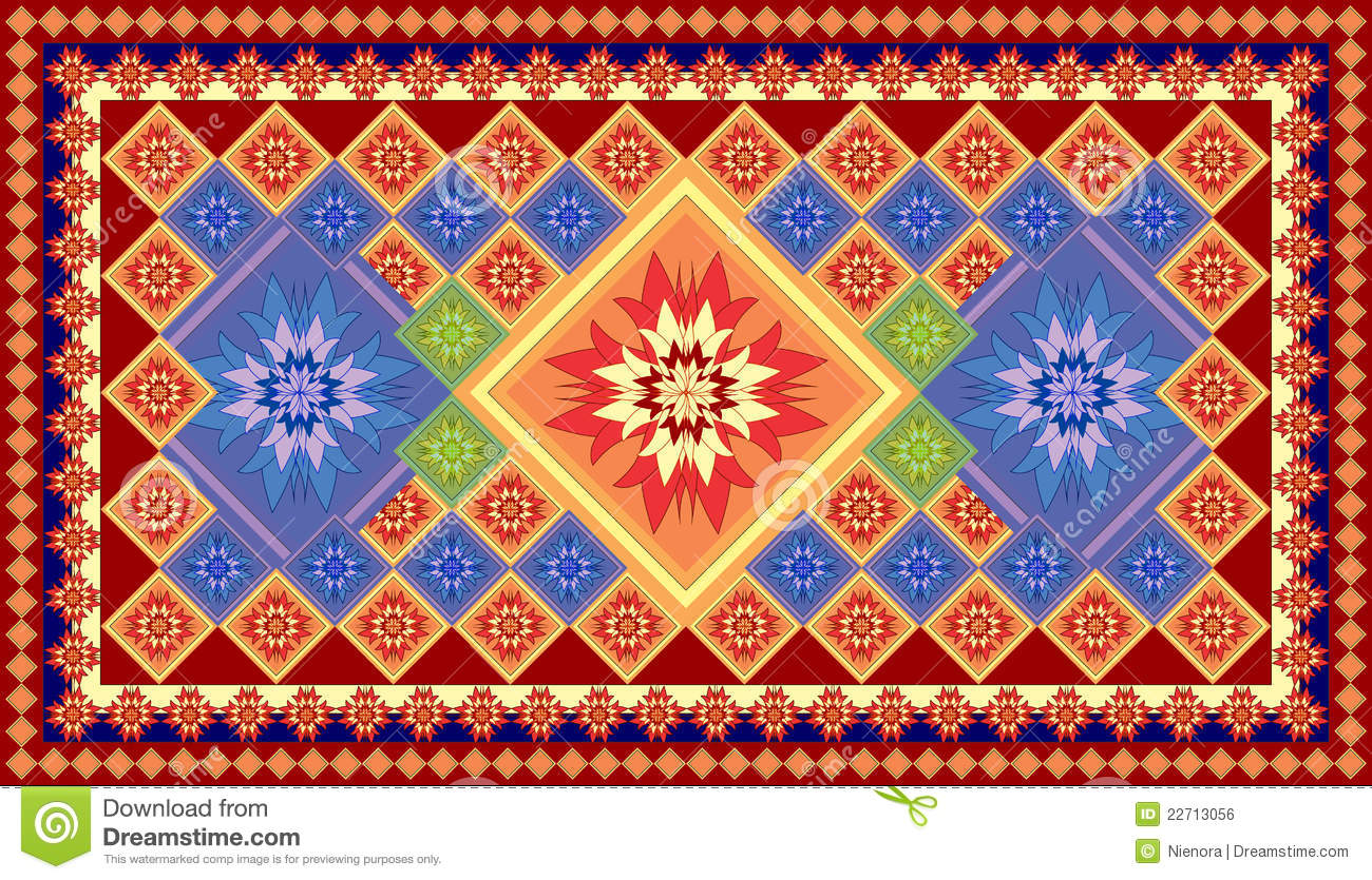 Vector Carpet Stock Illustration Of Interior