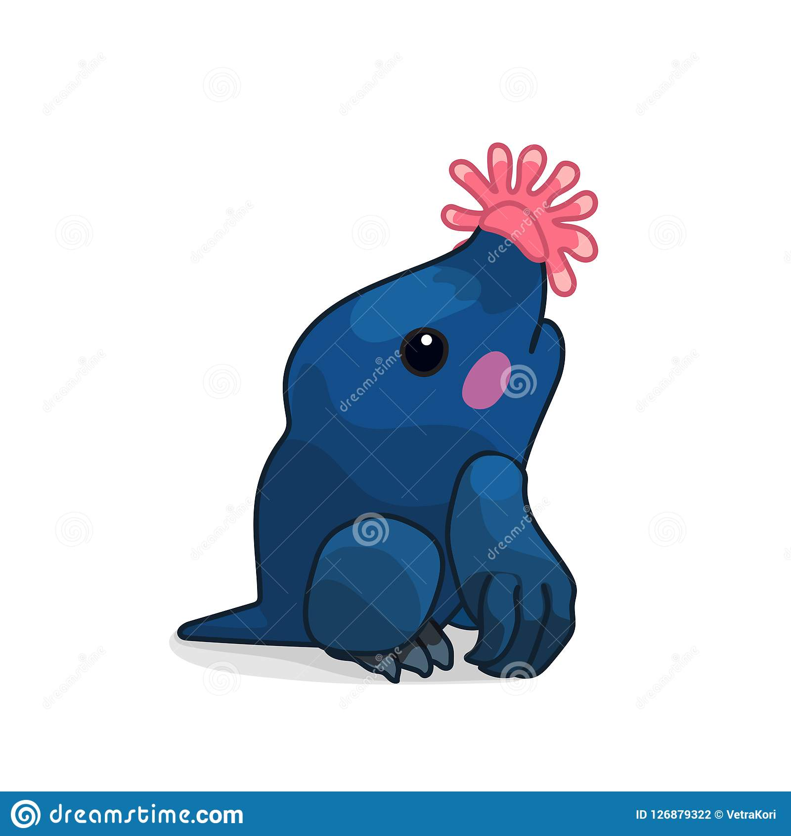 Vector Cartoon Animal Clip Art Stock Vector - Illustration ...