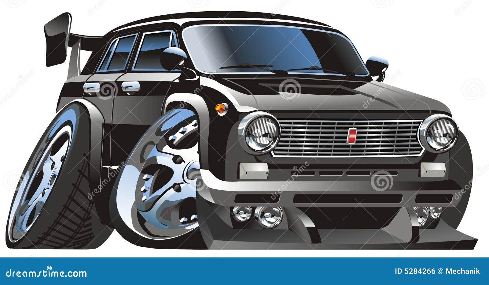 Vector Cartoon Car Royalty Free Stock Image Image 5284266