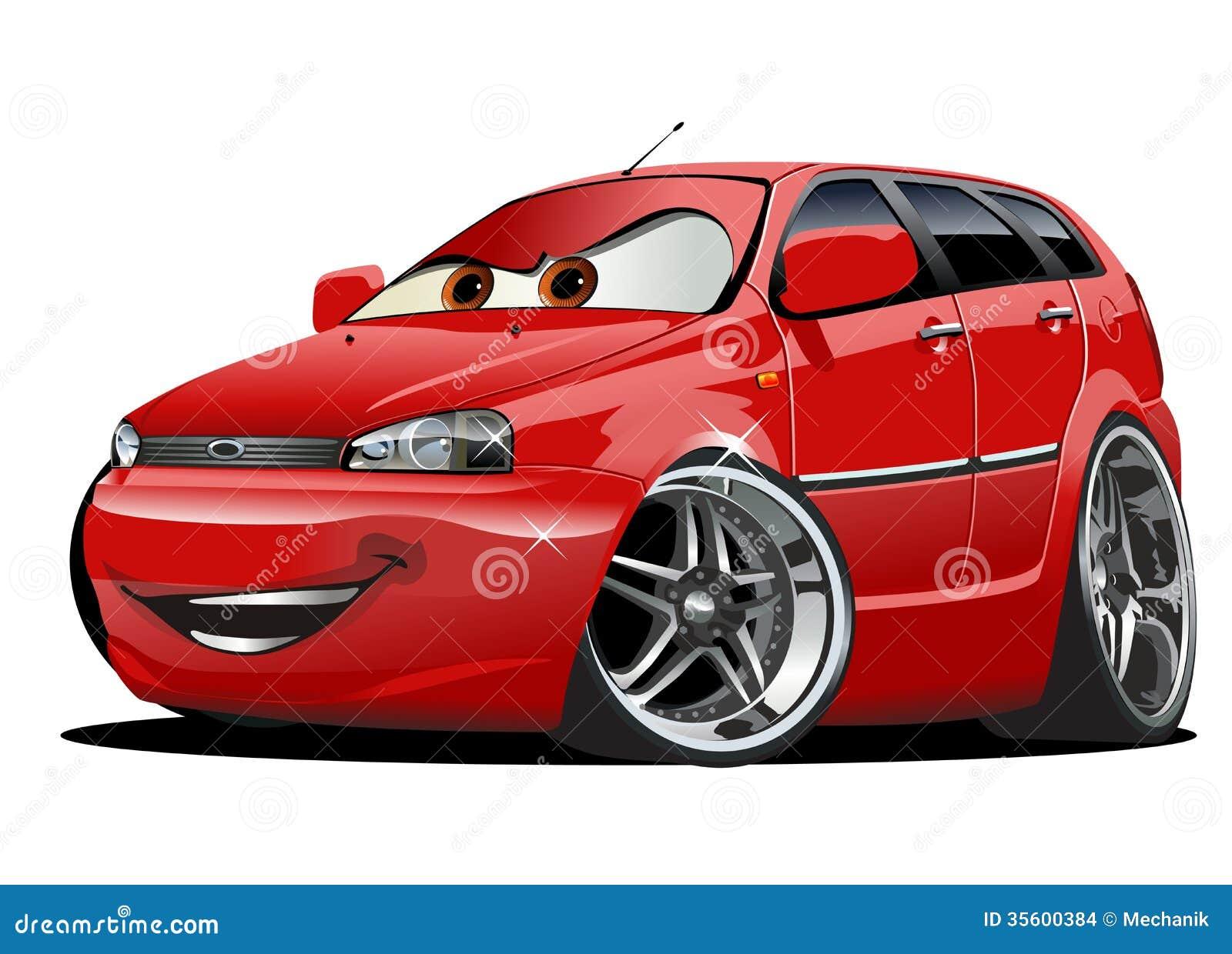 Cartoon Sport Car Drawings