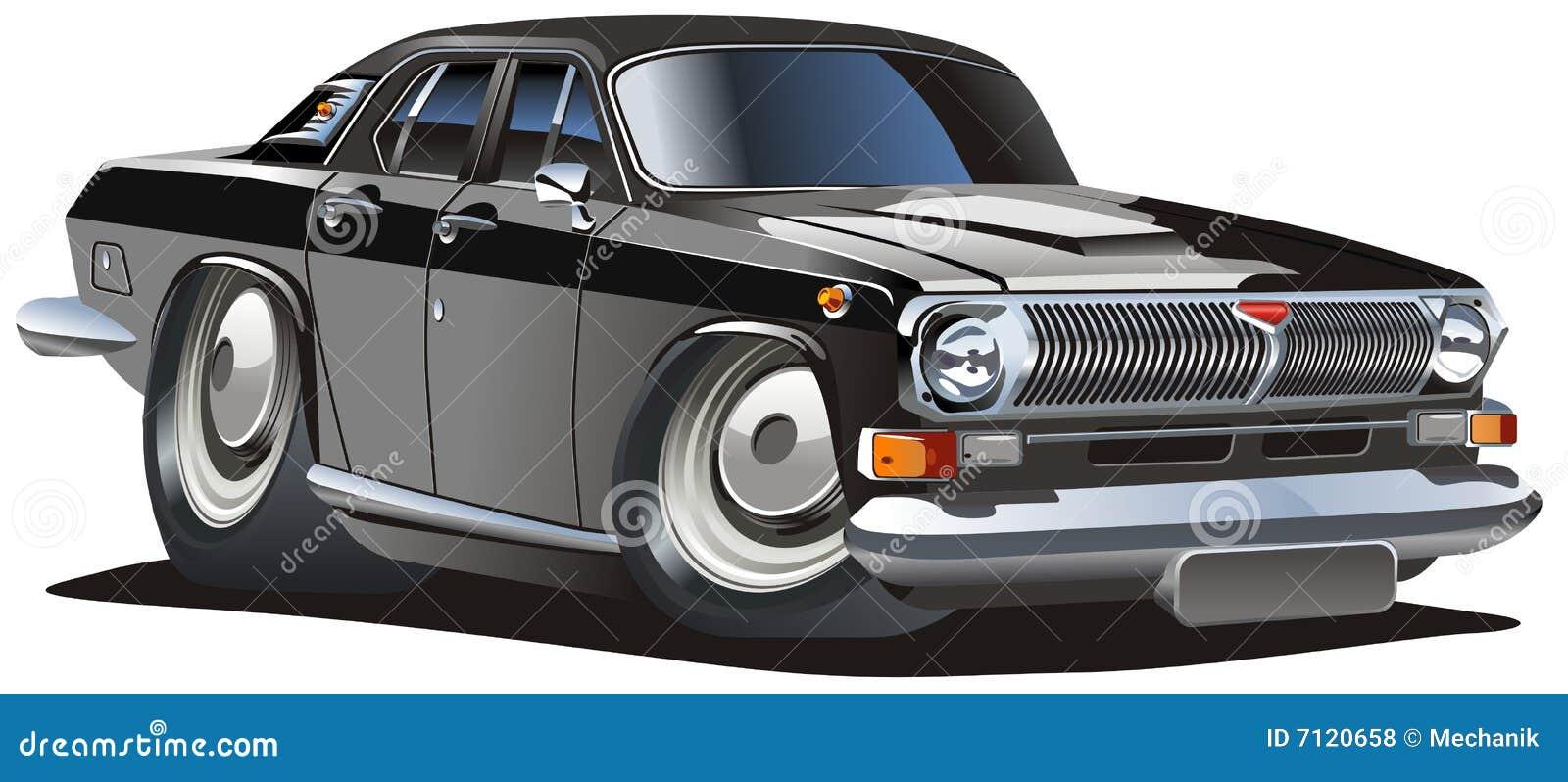 car cartoon classic