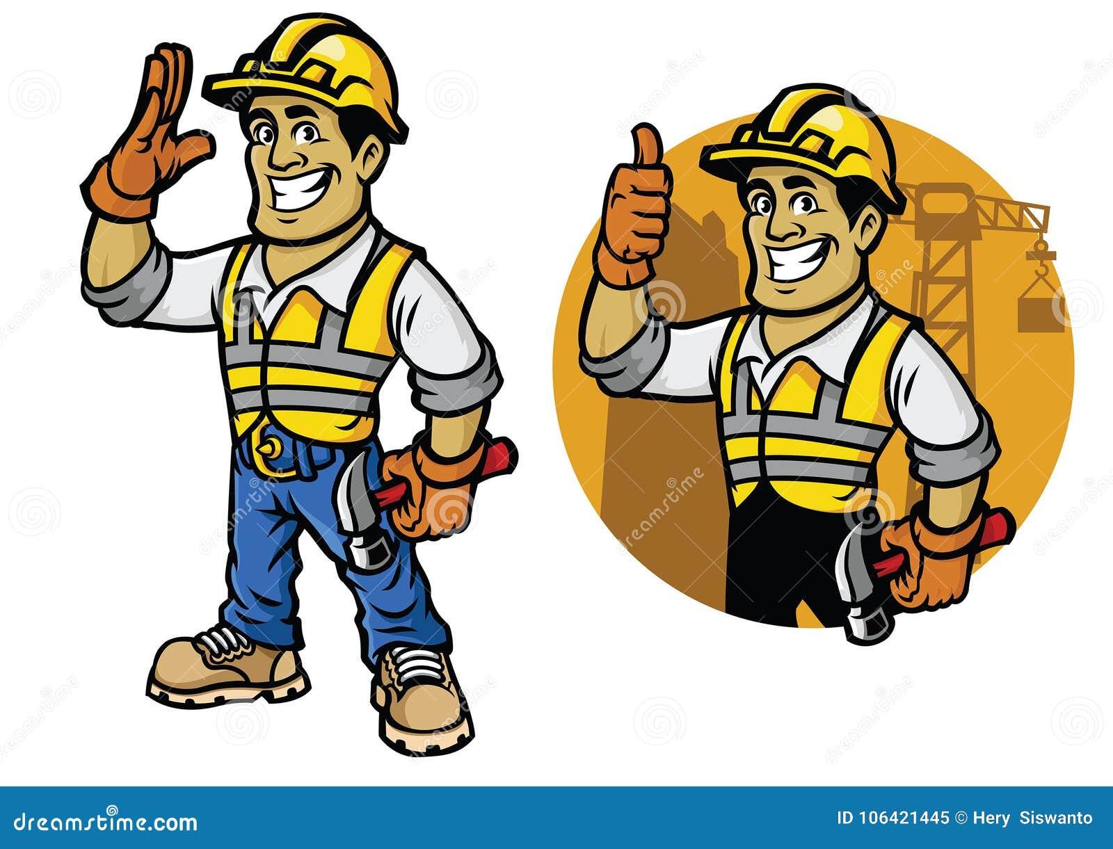 Cartoon Construction Worker Stock Illustrations 22 406 Cartoon Construction Worker Stock Illustrations Vectors Clipart Dreamstime