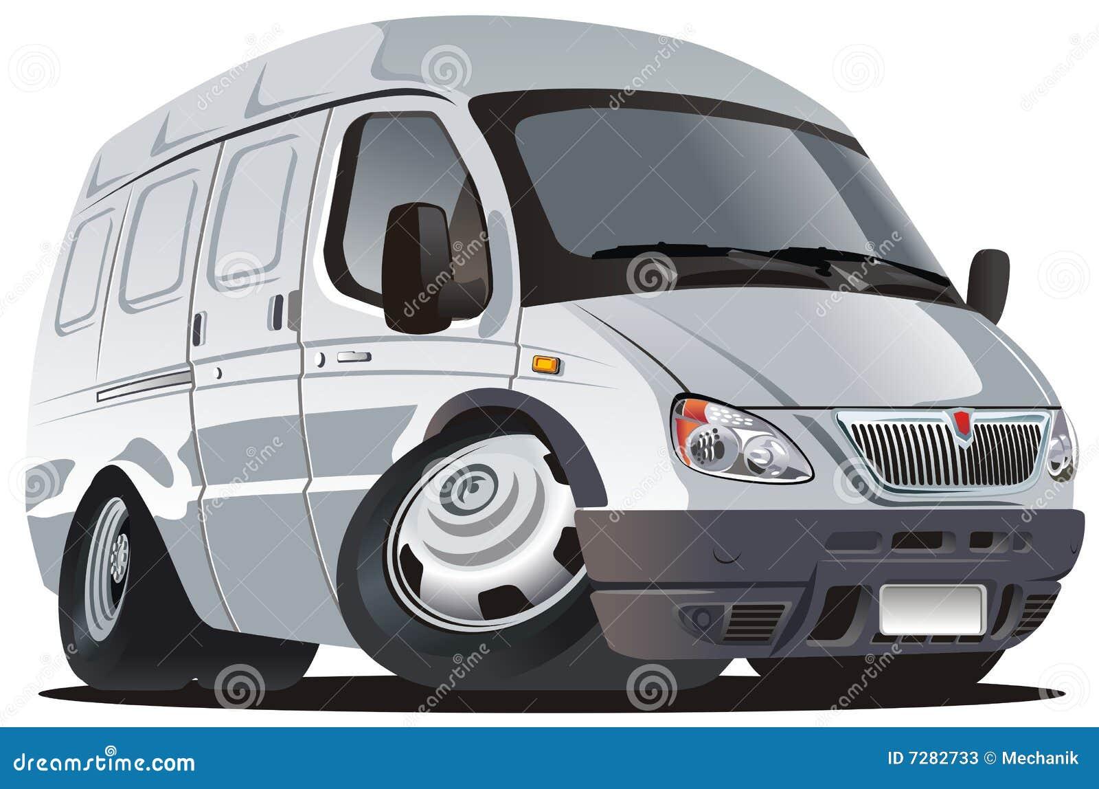 Vector Cartoon Delivery / Cargo Truck Stock Photos - Image ...