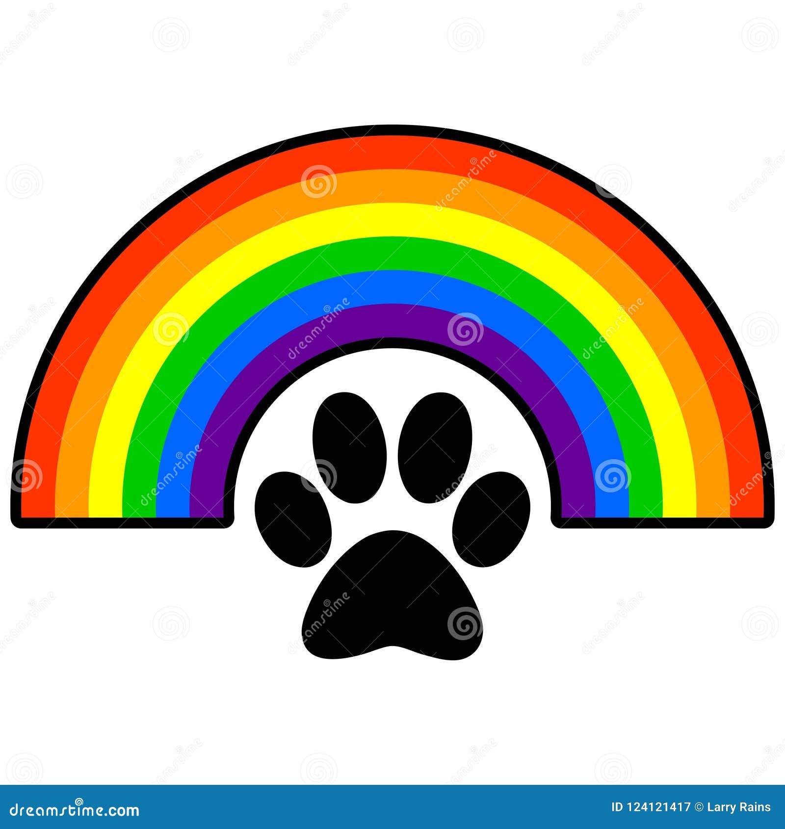 picture regarding Rainbow Bridge Printable referred to as Canine Rainbow Bridge Inventory Examples 8 Pet Rainbow