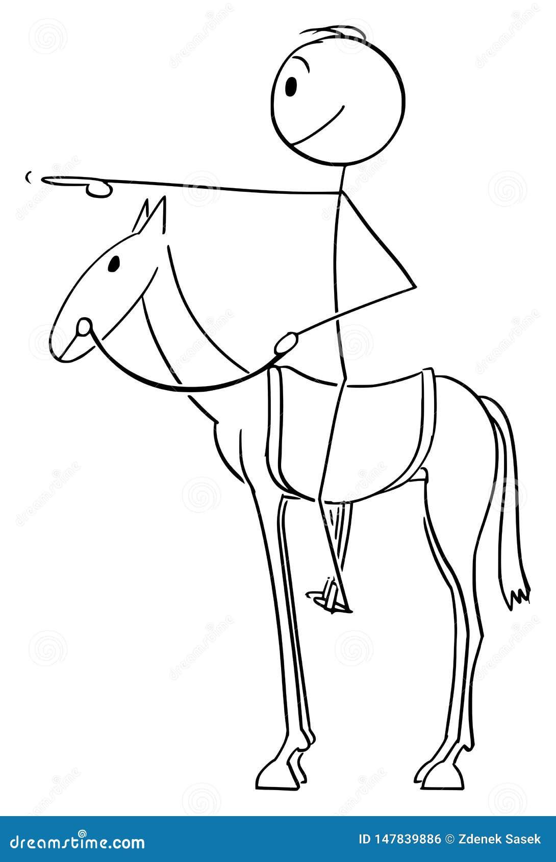 Man Sitting Horse Stock Illustrations 184 Man Sitting Horse Stock Illustrations Vectors Clipart Dreamstime