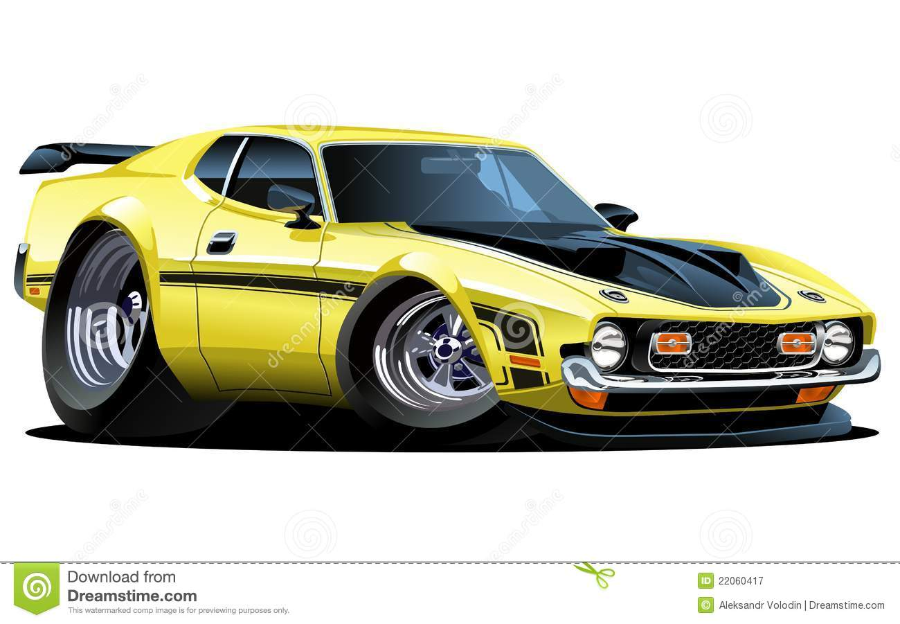Muscle Car Vector Amazing Wallpapers