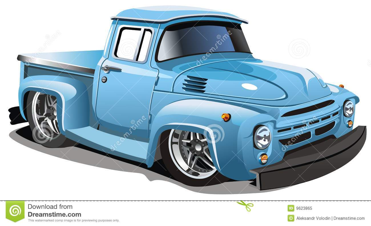 Old Fashioned Truck Clipart