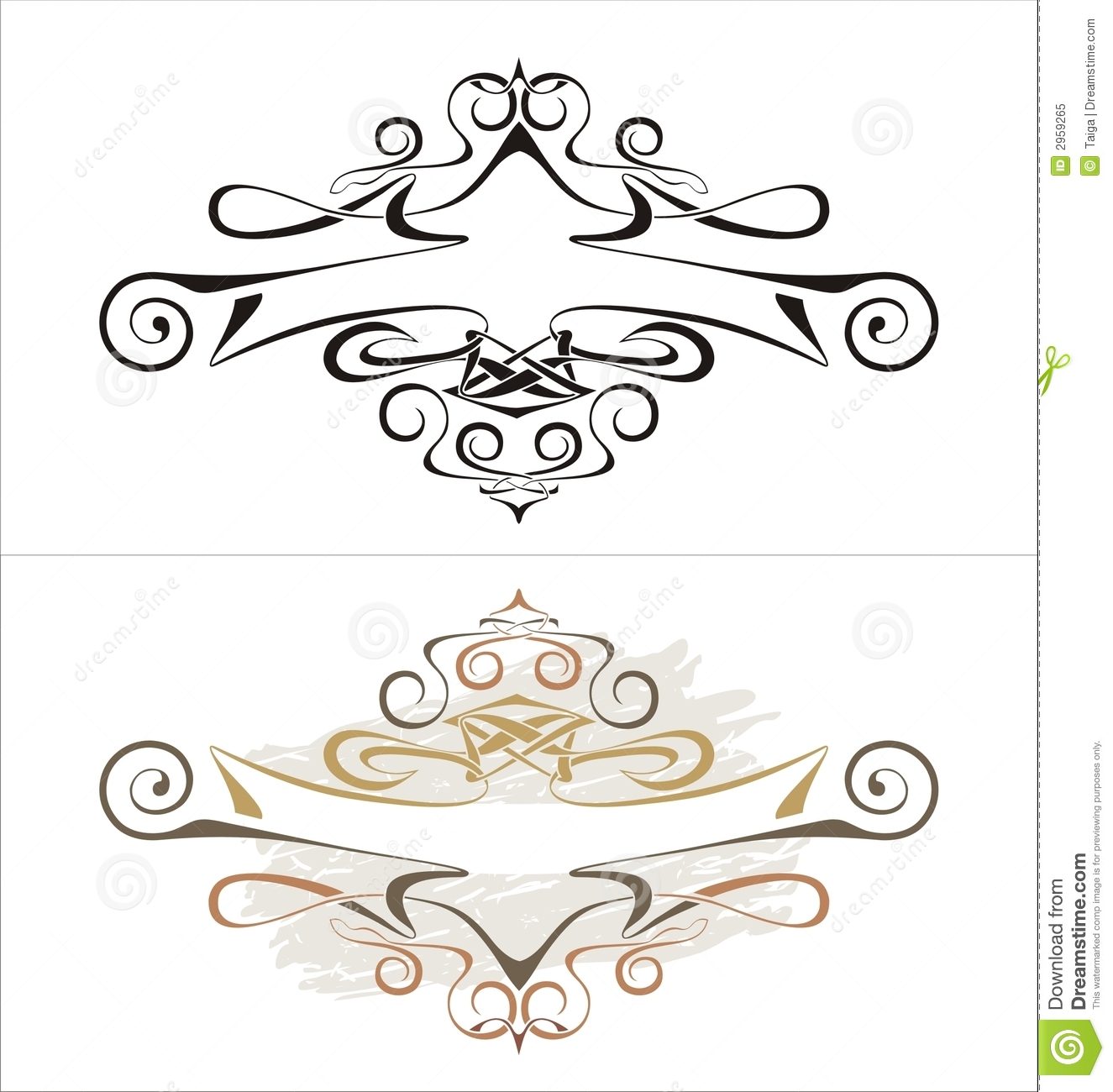 Cartouche, Vector Royalty Free Stock Photography - Image: 931237