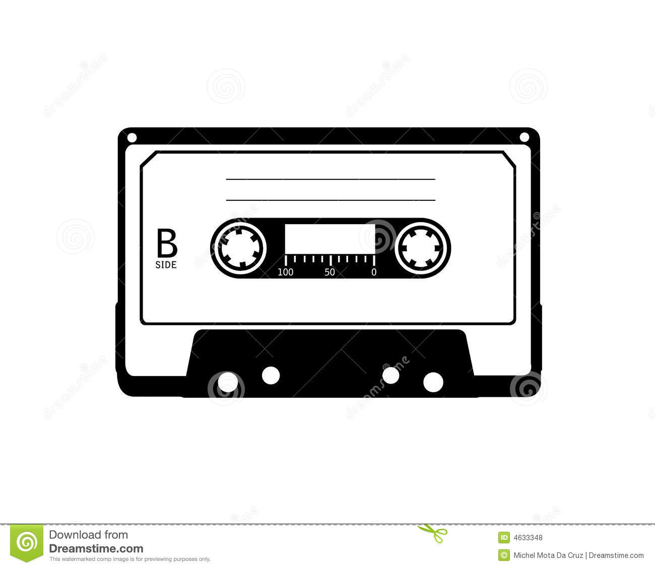 Vector Of Cassette Royalty Free Stock Photos - Image: 4633348