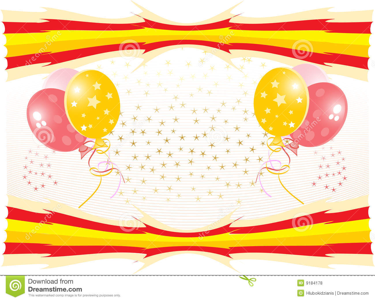 Vector Celebration Background Royalty Free Stock Photos