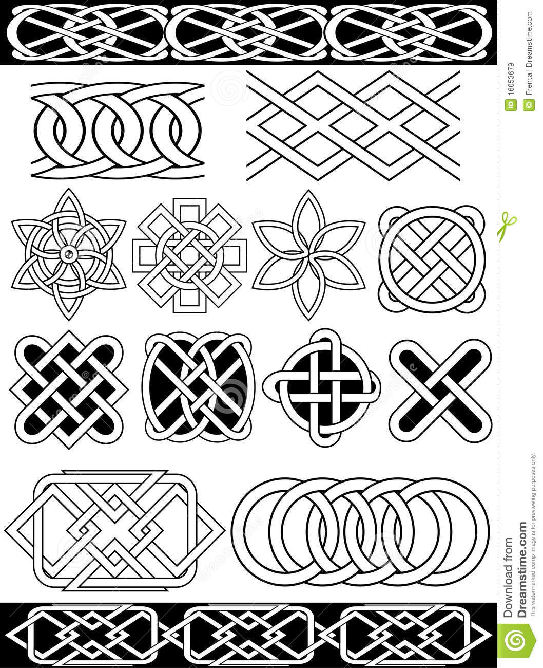 Medieval Lord Clipart Vector Celtic Knots Ro...