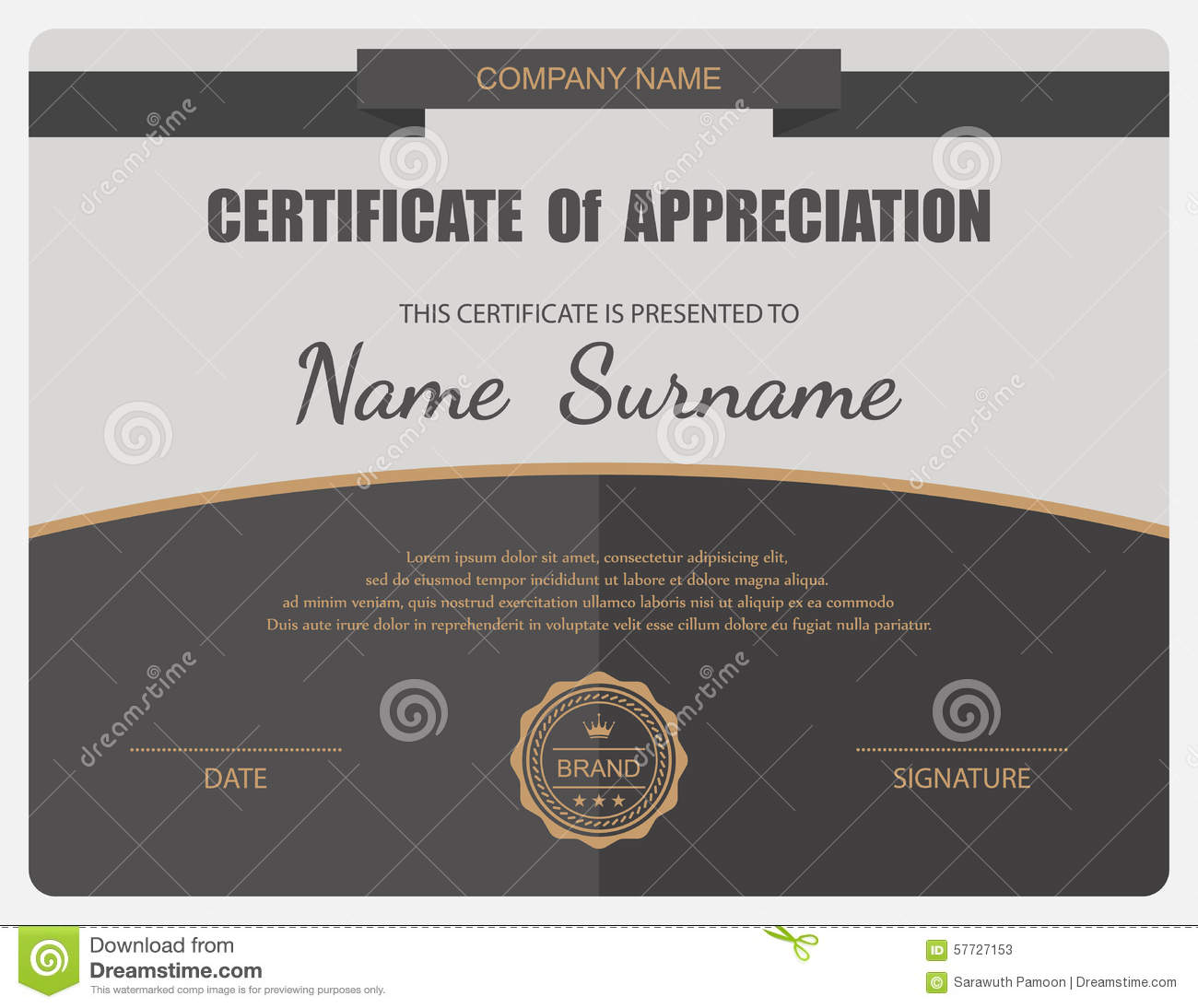 vector certificate template stock vector illustration of