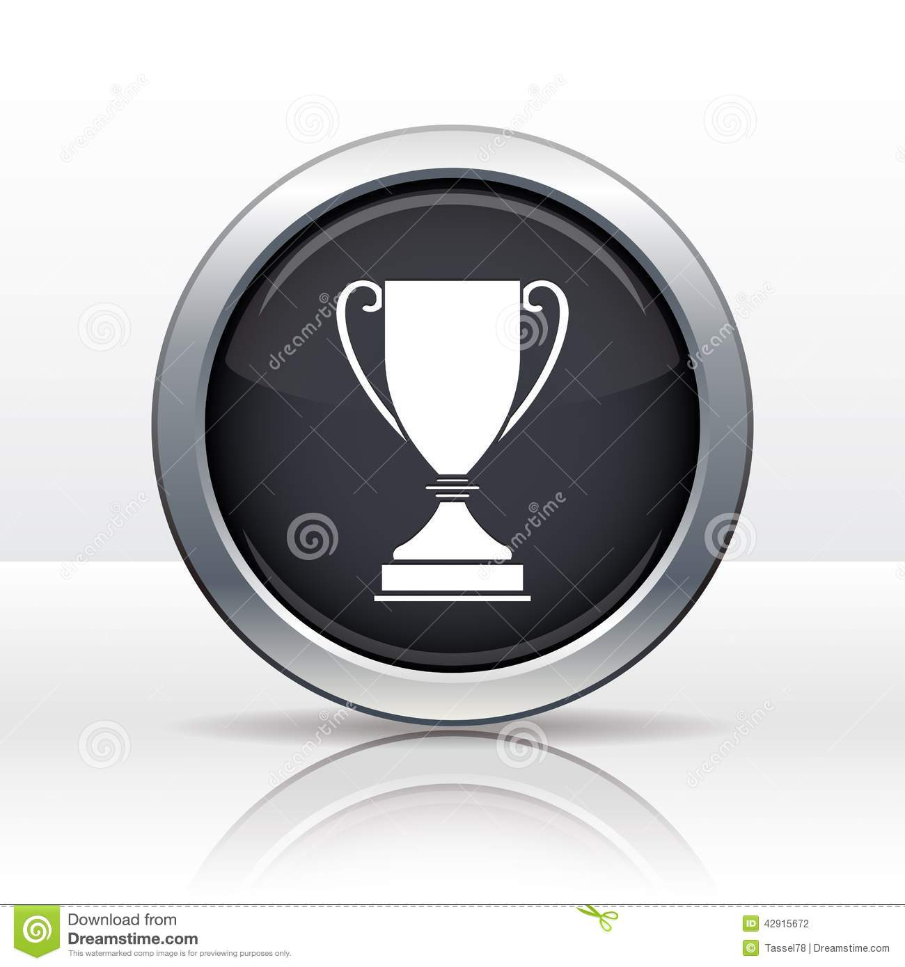 Vector Champions Cup Icon stock vector  Illustration of best