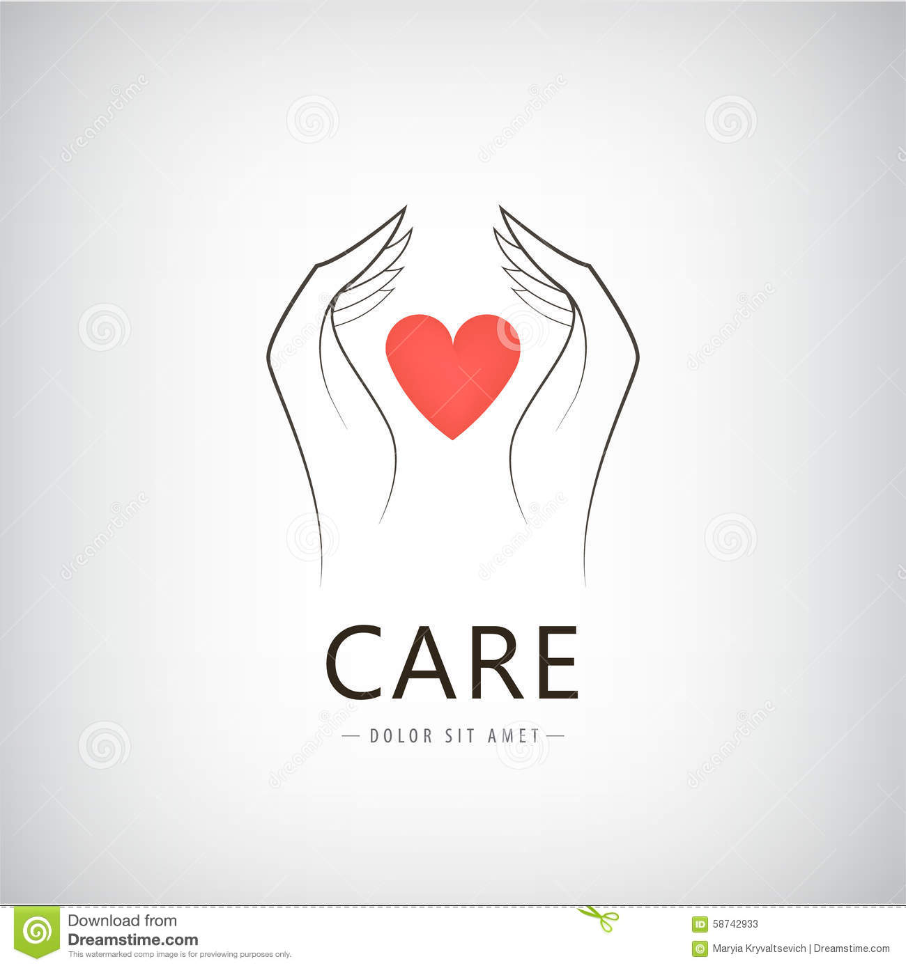 Vector Charity, Medical, Care, Help Logo, Icon Stock ...