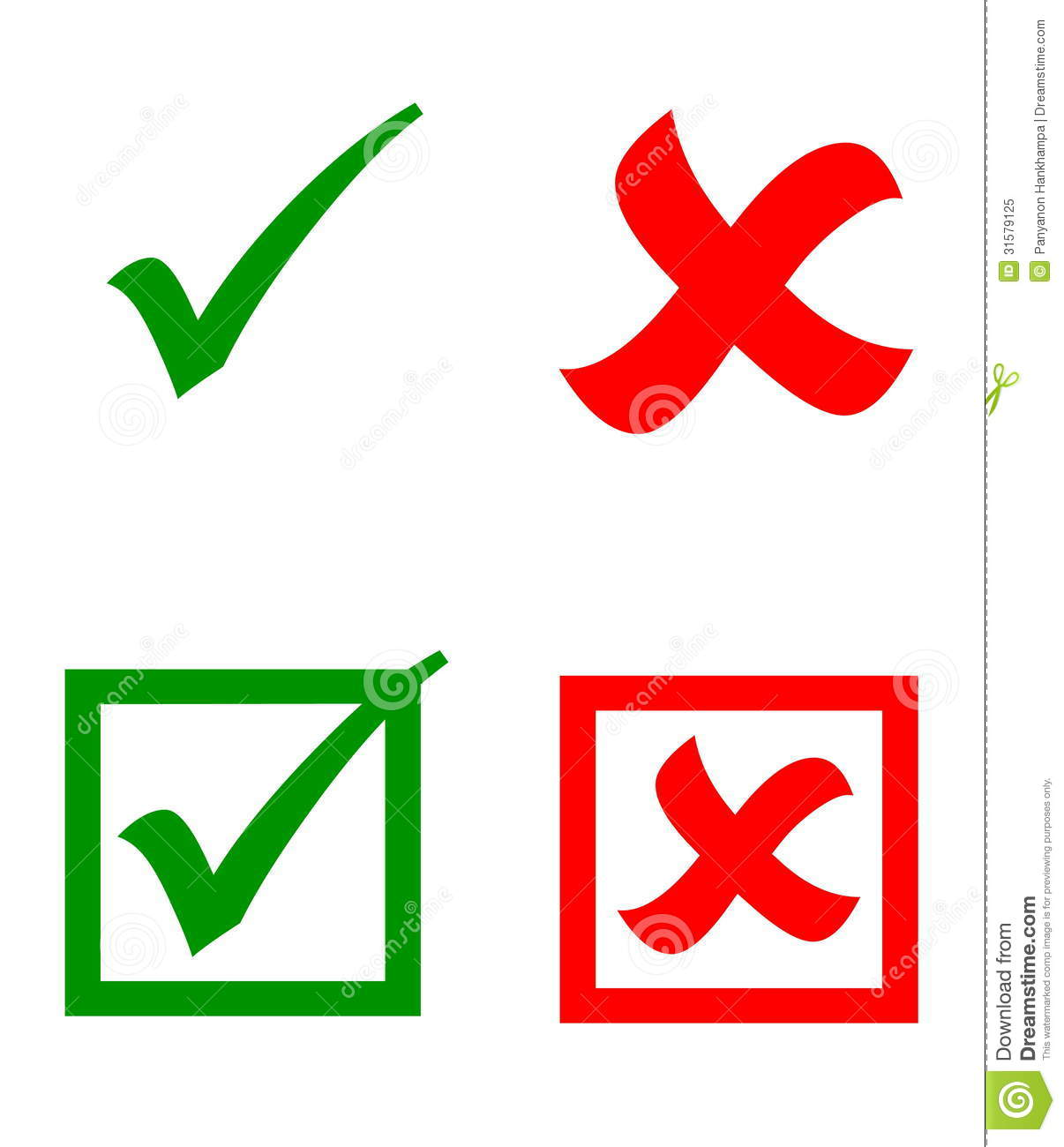 Vector Check Mark Stickers Royalty Free Stock Photo - Image: 31579125: www.dreamstime.com/royalty-free-stock-photo-vector-check-mark...