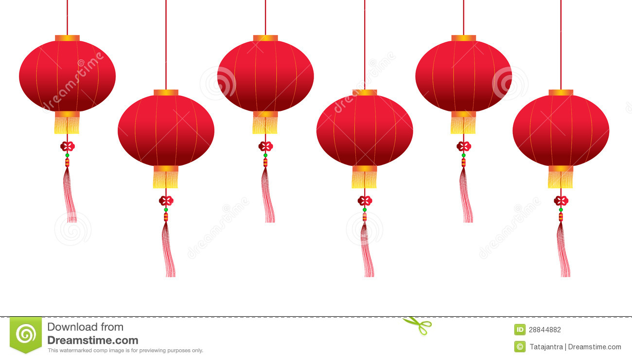 Vector chinese hanging lanterns stock vector illustration of vector chinese hanging lanterns aloadofball Image collections