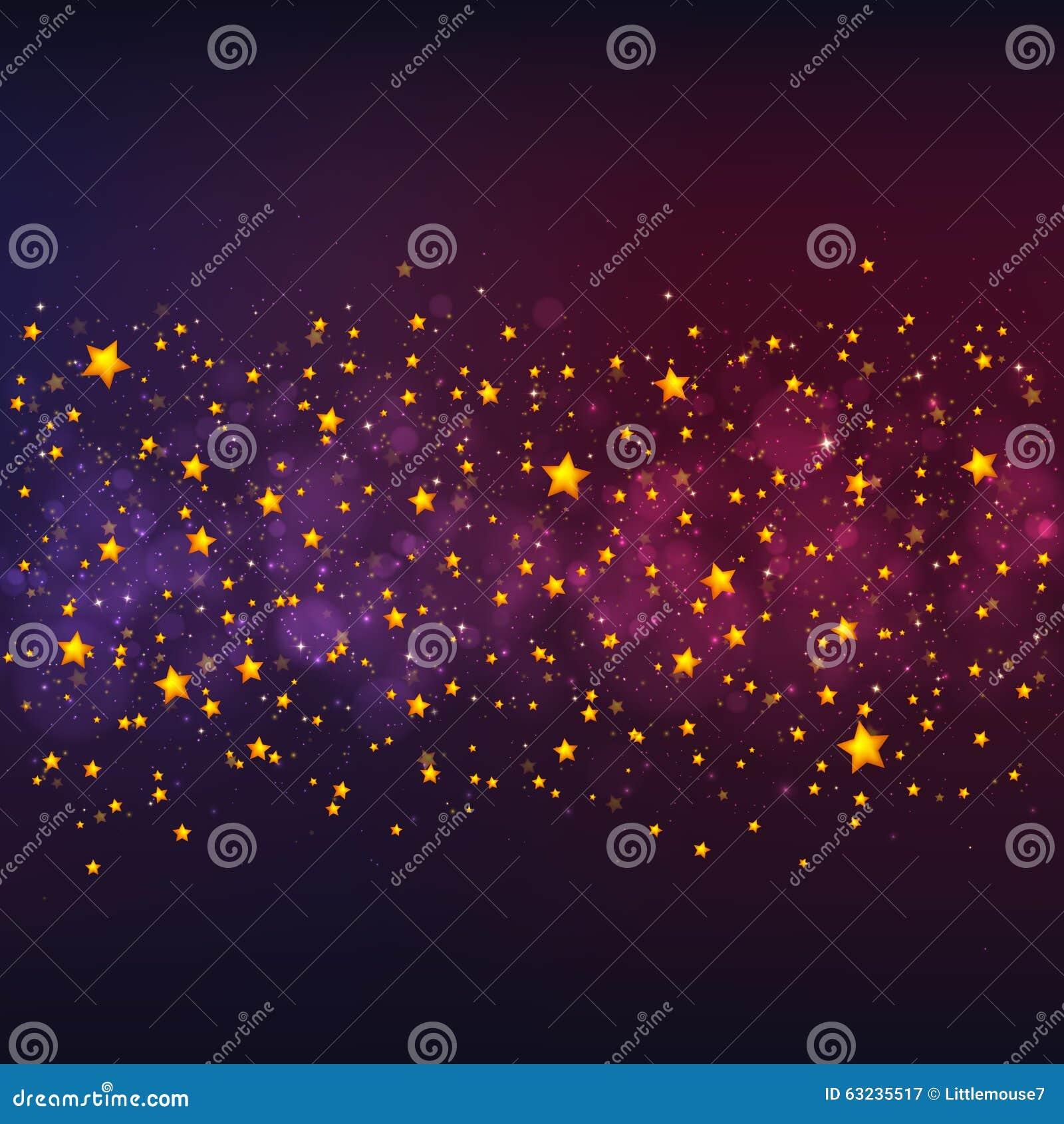 purple and gold stars - photo #40