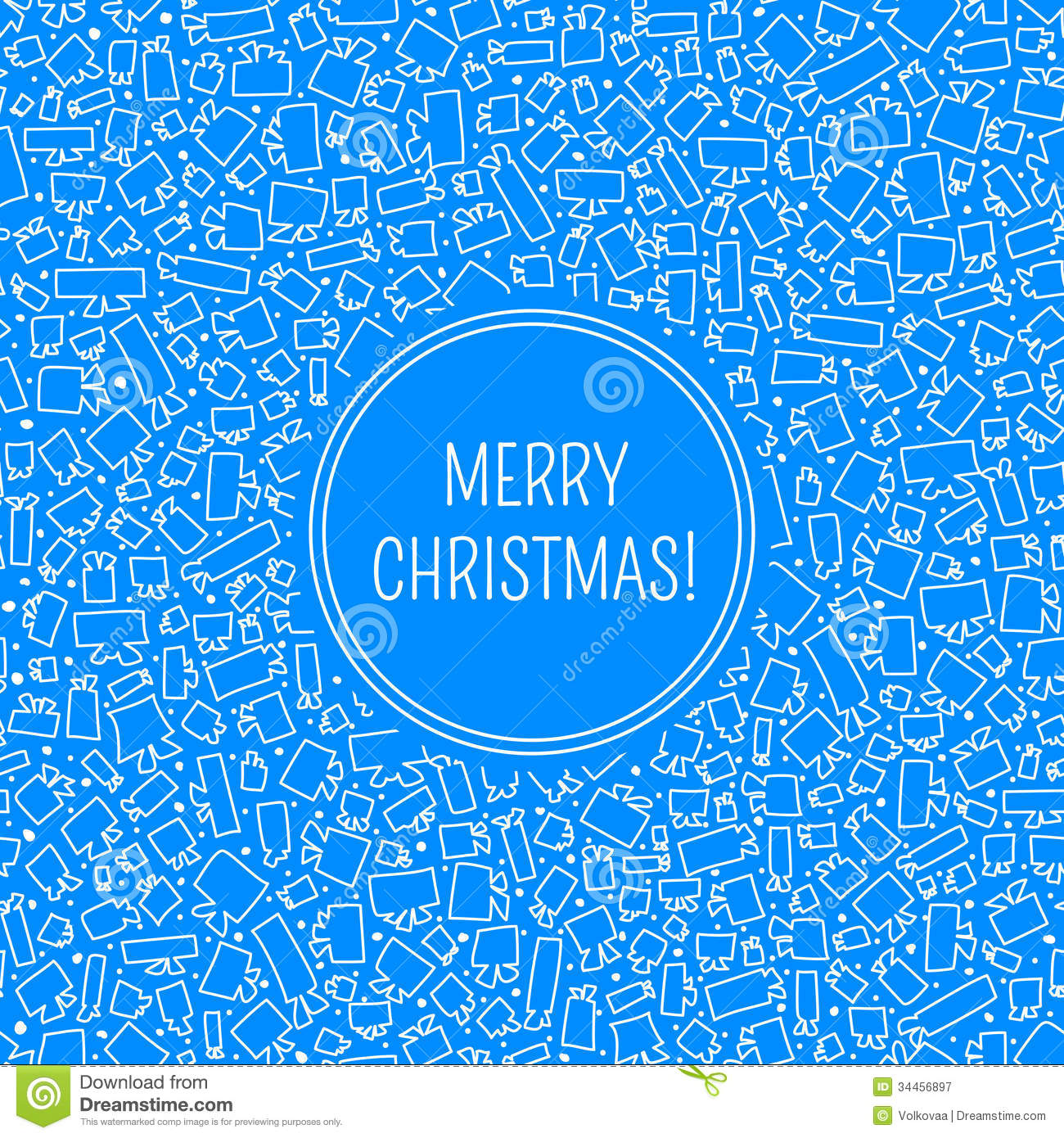 Vector Christmas Card Royalty Free Stock Photography - Image: 34456897