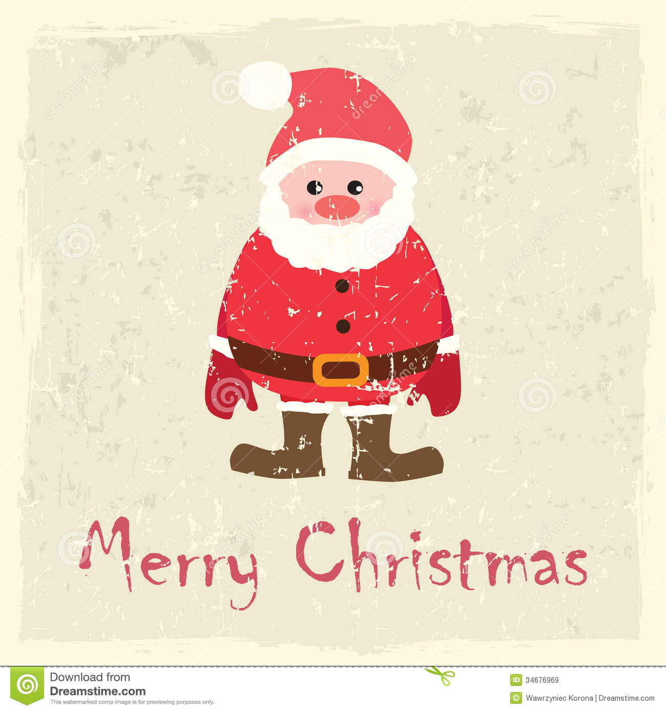Vector Christmas Card Royalty Free Stock Images Image
