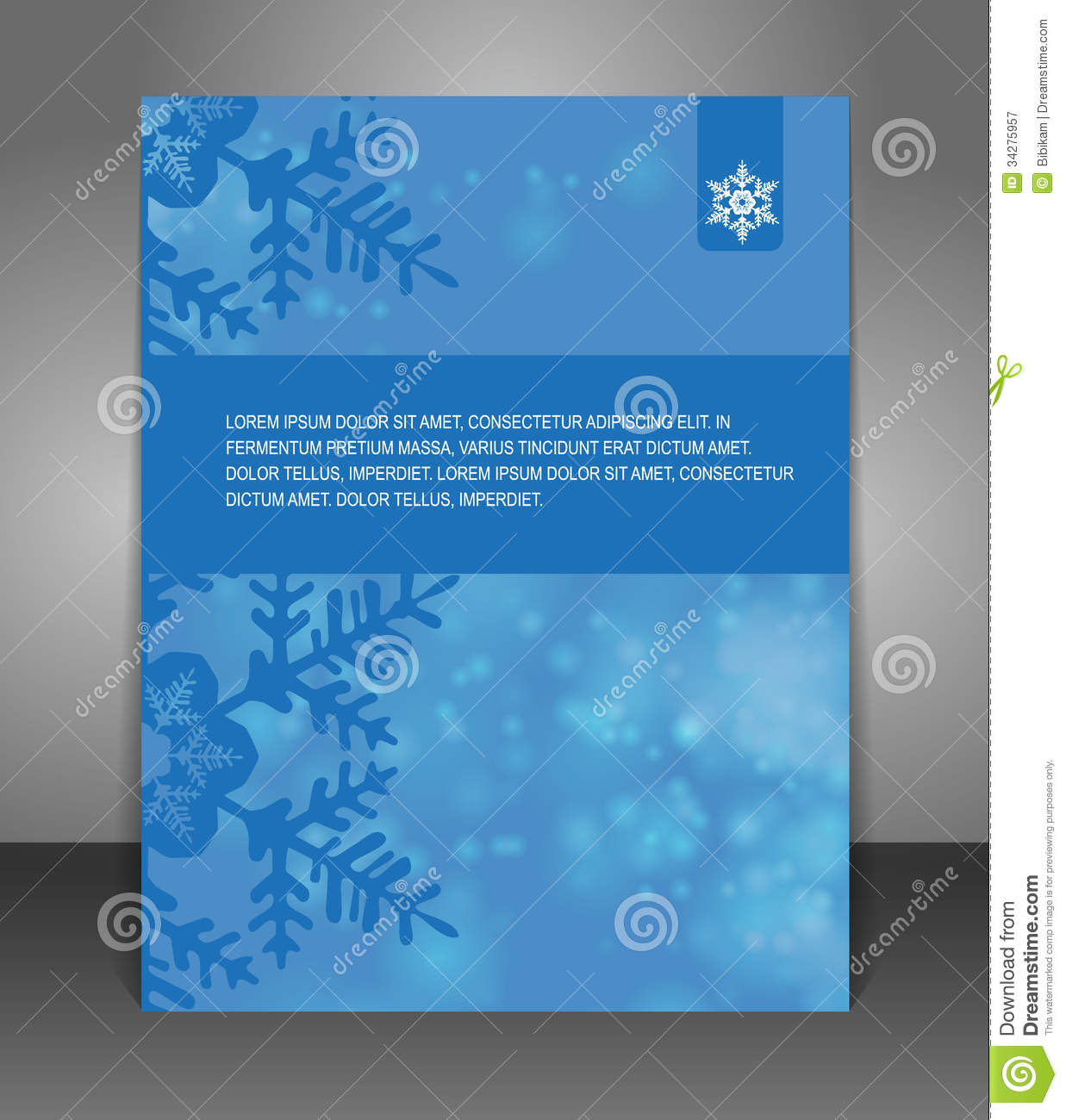 vector christmas flyer poster royalty stock photography vector christmas flyer poster