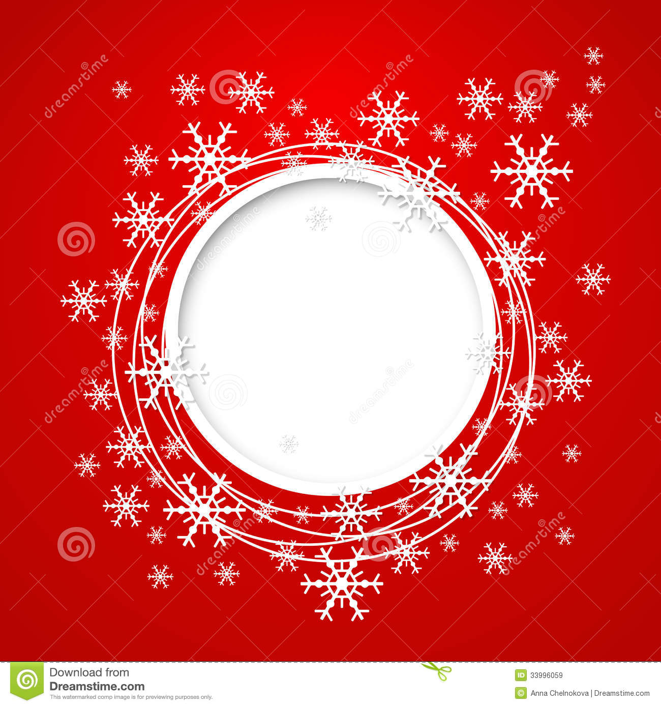 Vector Christmas Greeting Card. Royalty Free Stock Images - Image ...