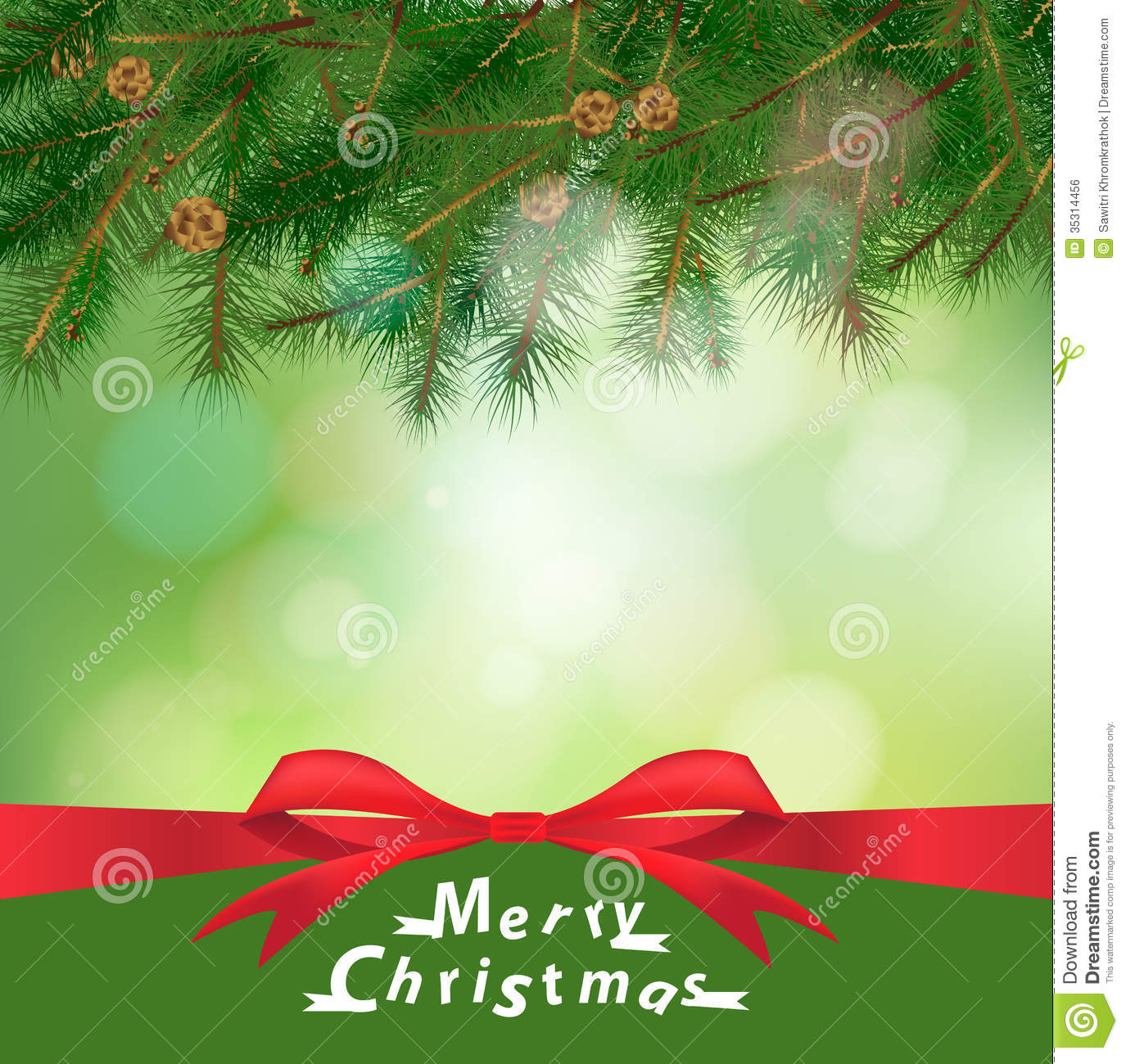 Vector Christmas Holiday Background Royalty Free Stock