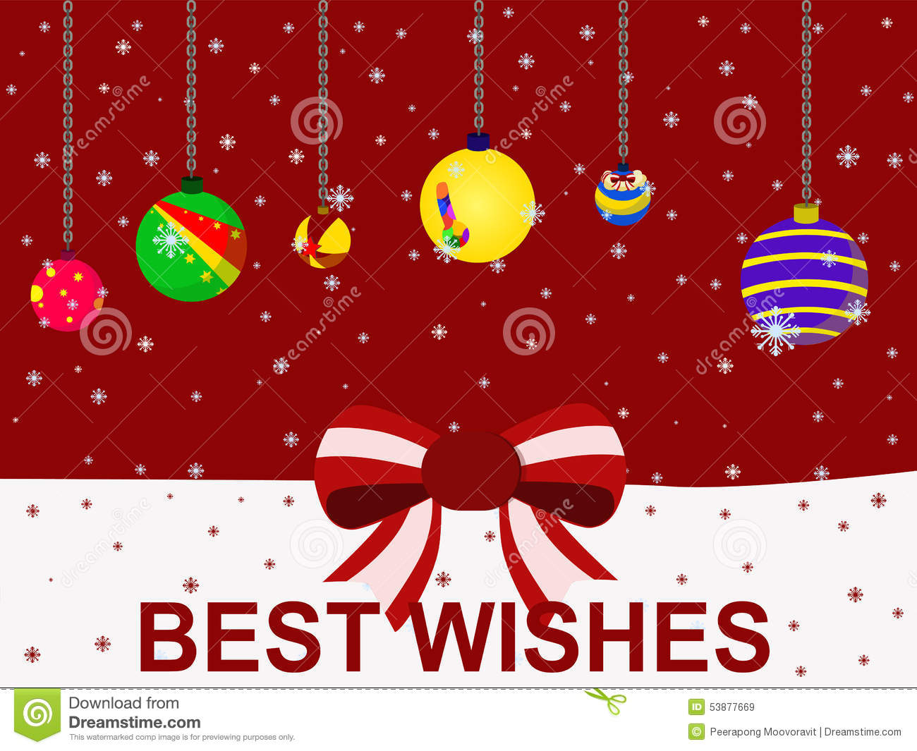 vector christmas holiday festival best wishes balloon concept - Best Wishes For Christmas