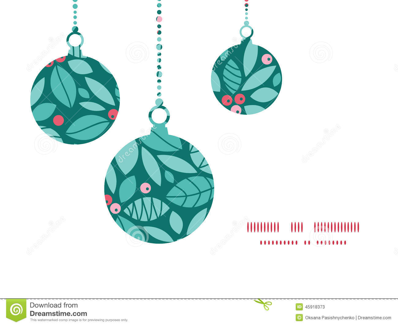Holly christmas ornaments - Vector Christmas Holly Berries Christmas Ornaments Stock Photos