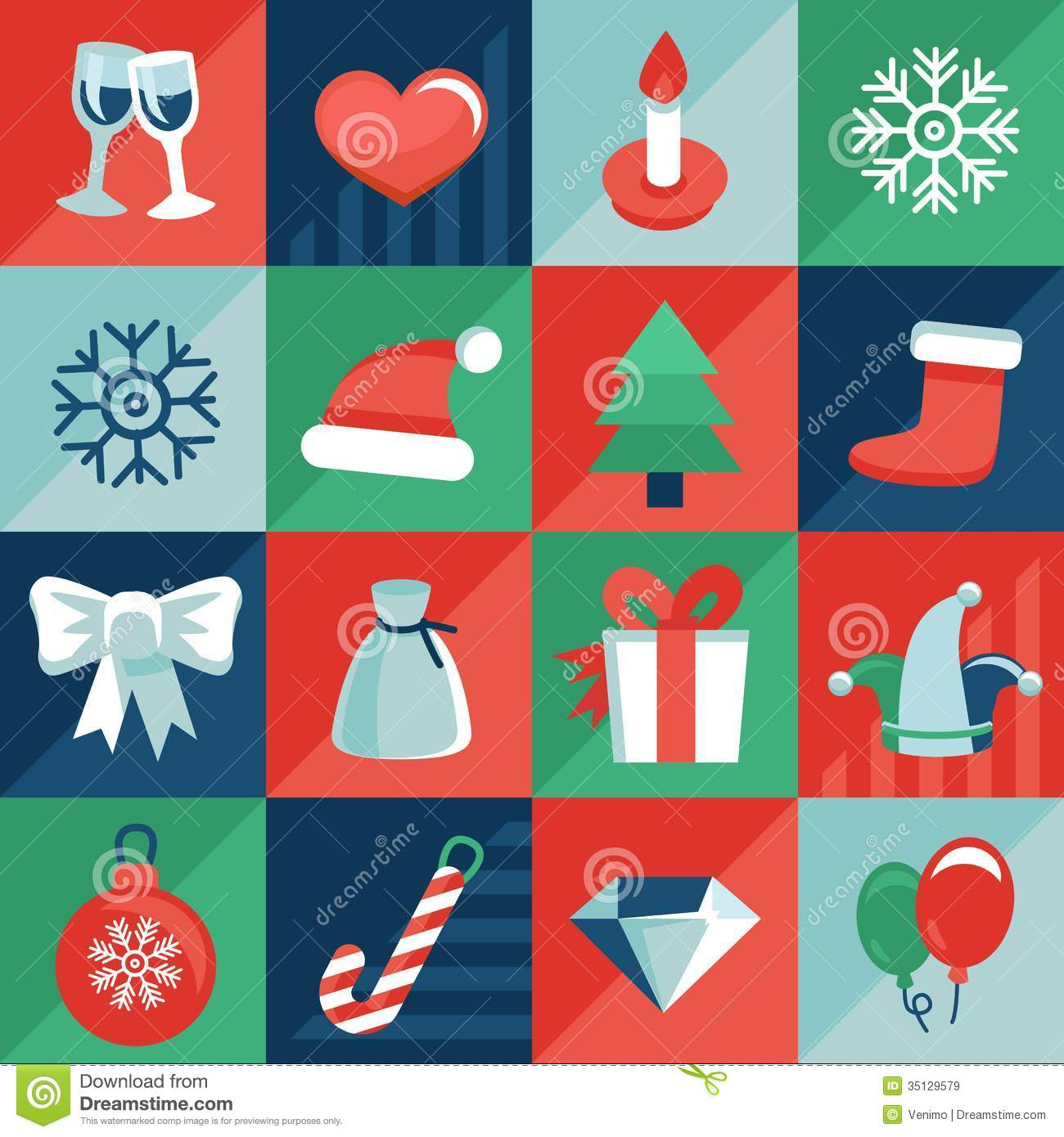 Vector christmas icons stock vector illustration of claus 35129579 vector christmas icons claus graphic m4hsunfo Image collections