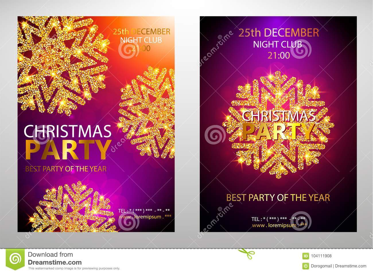 download vector christmas party design template vector illustration stock vector illustration of gift