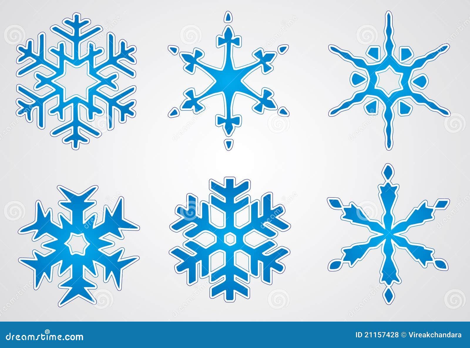 Vector Christmas Snowflake Royalty Free Stock Photos - Image: 21157428 Falling Snowflake Vector