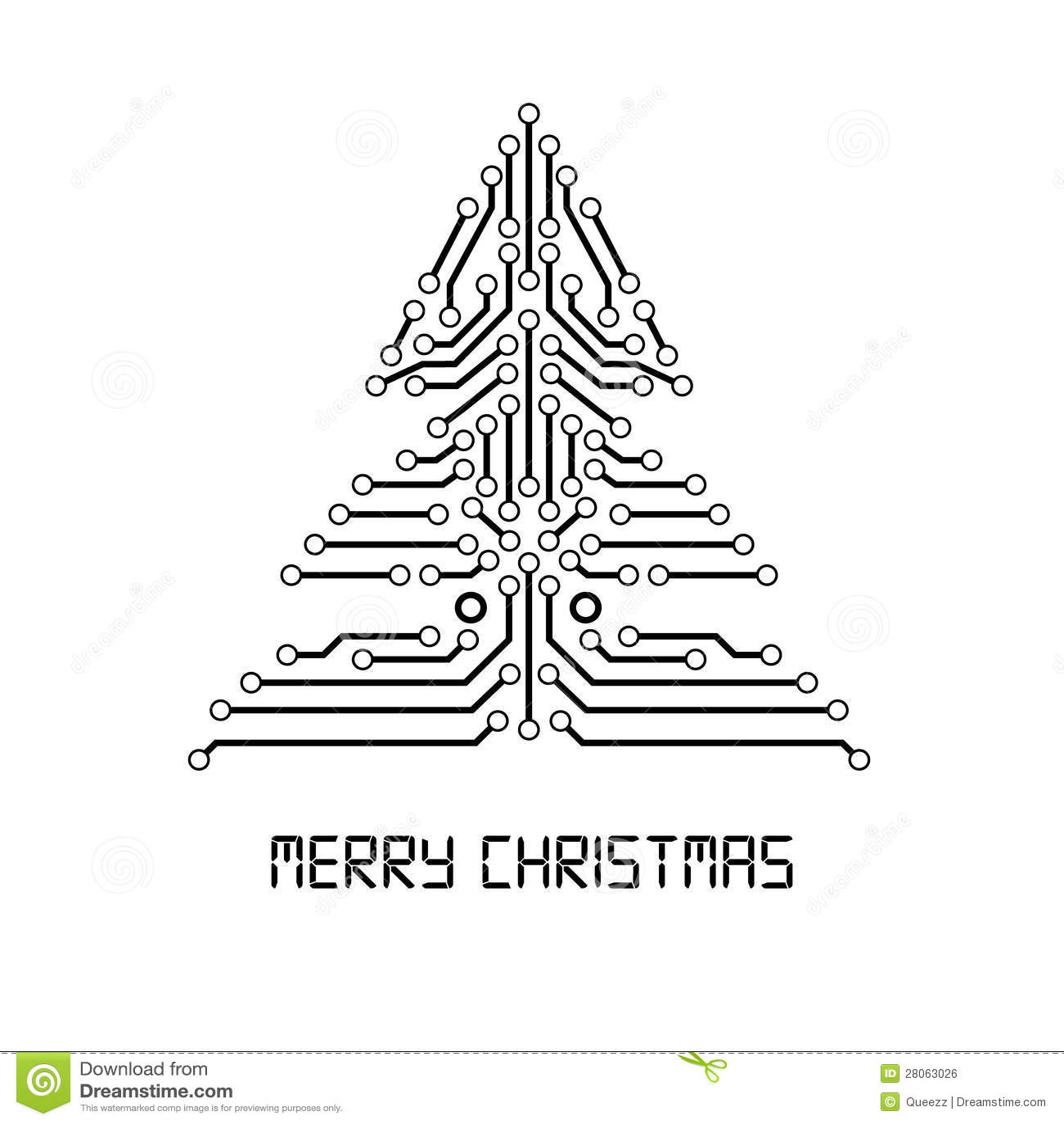 how to make binary digit christmas card