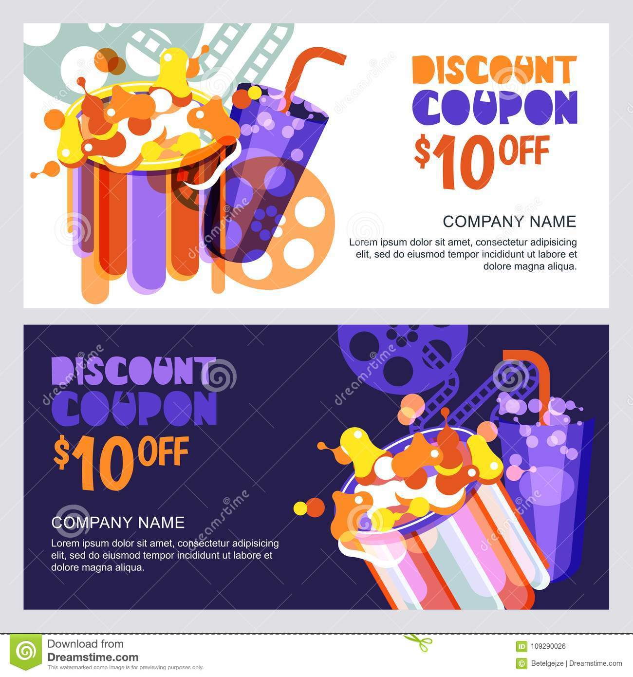 Movie ticket discount coupon