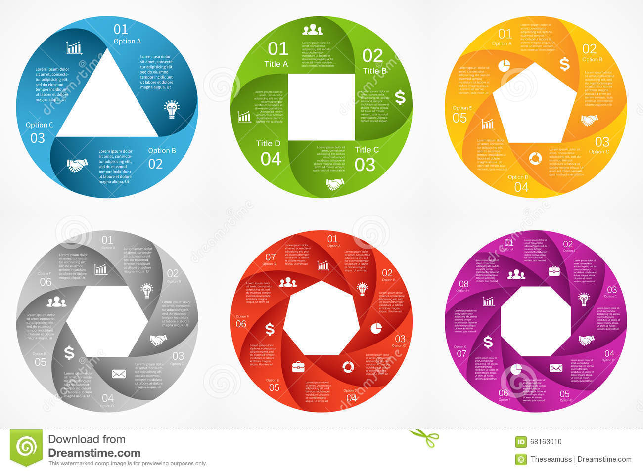 Vector circle arrows infographic template for cycle diagram graph download vector circle arrows infographic template for cycle diagram graph presentation and round ccuart Image collections