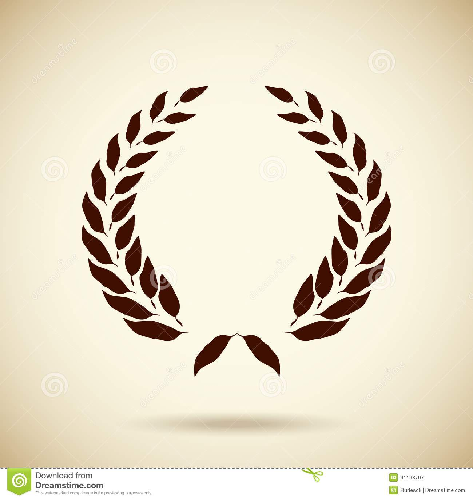 Greek wreath vector