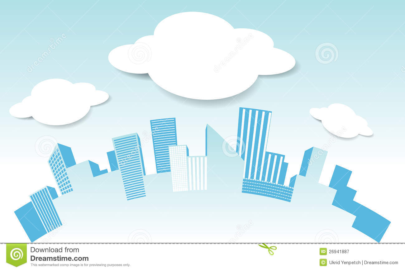 vector city and cloud in blue sky background vecto stock airplane graphic crashes airplane graphics clip art