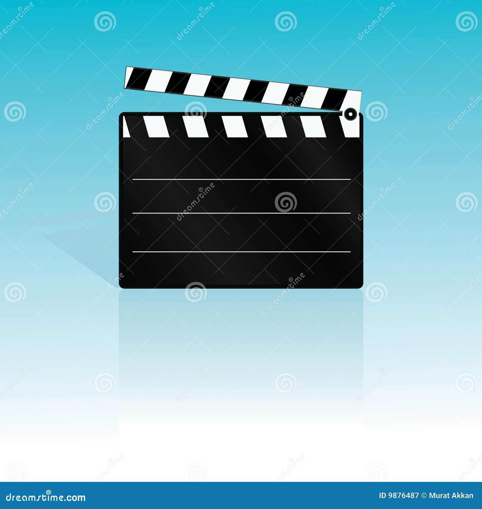 Vector clapboard
