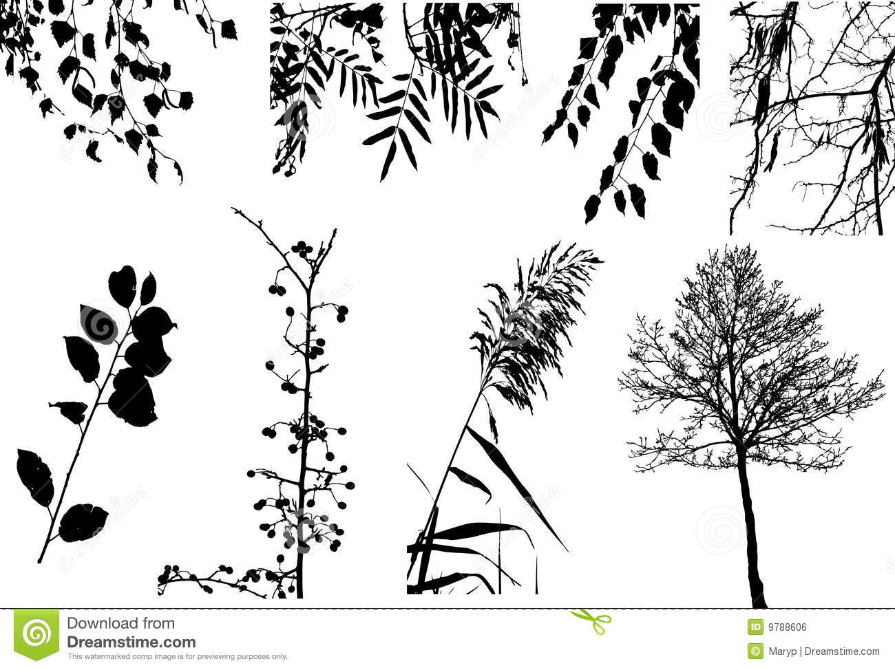 vector clipart collection of trees and bushes stock illustration rh dreamstime com aridi vector clipart collection full 37 cds aridi vector clipart collection password