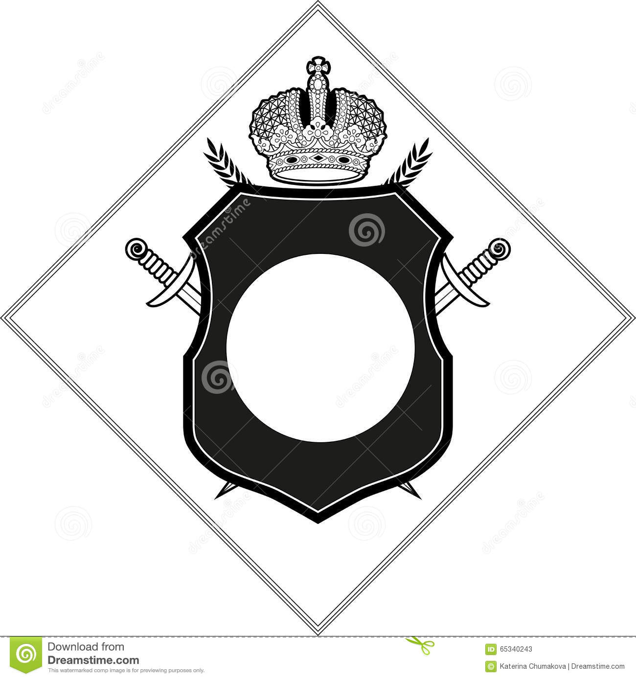 Vector Coat Of Arms Design Template Vector Image 62607877 – Coat of Arms Template