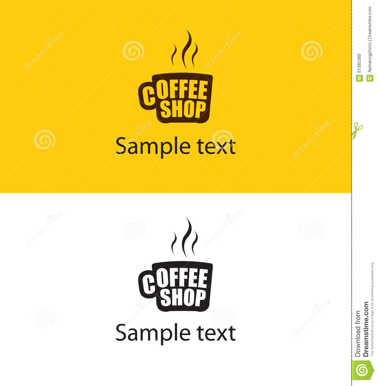 coffee cup logo template - photo #33