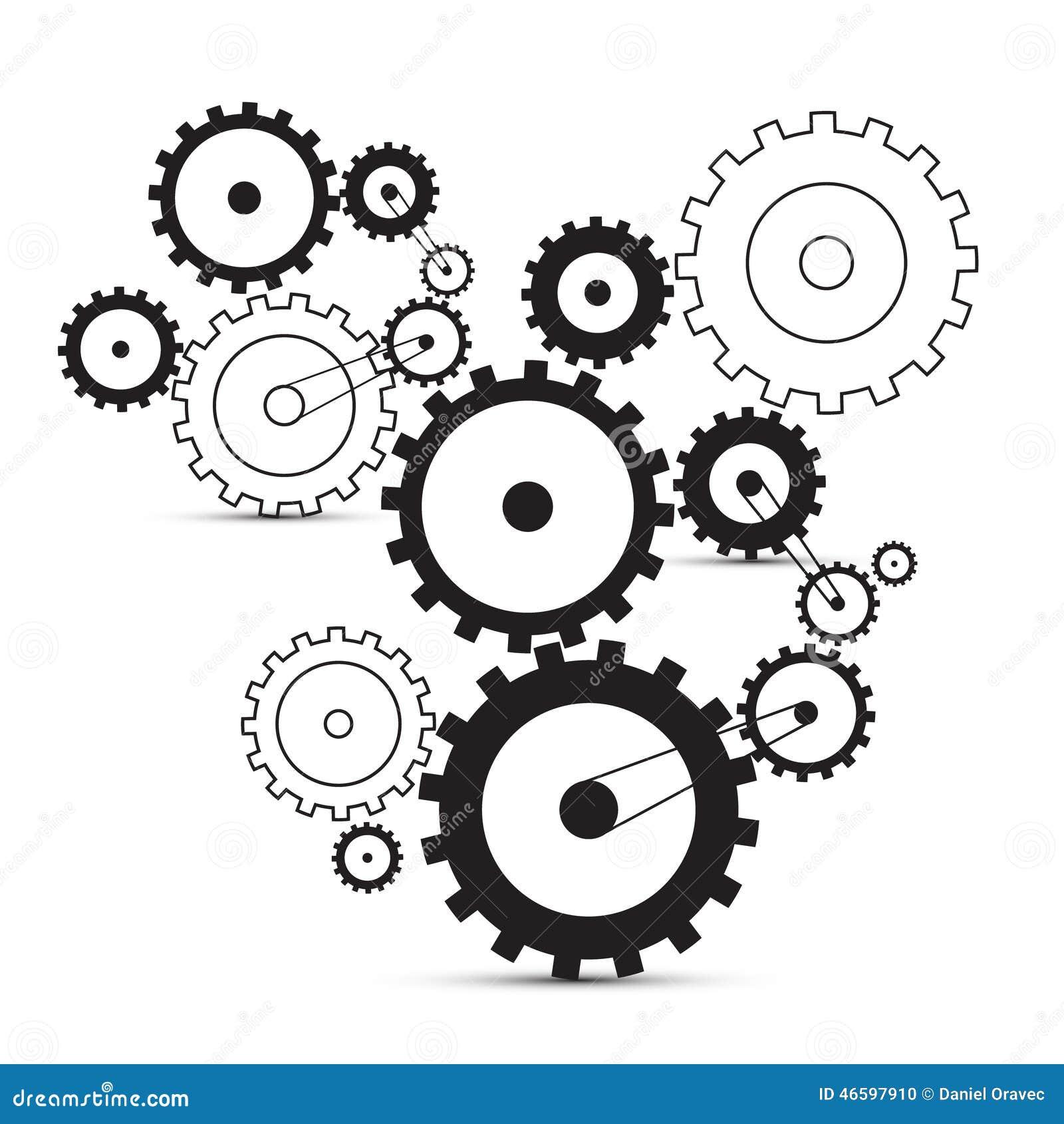 Vector cogs - gears
