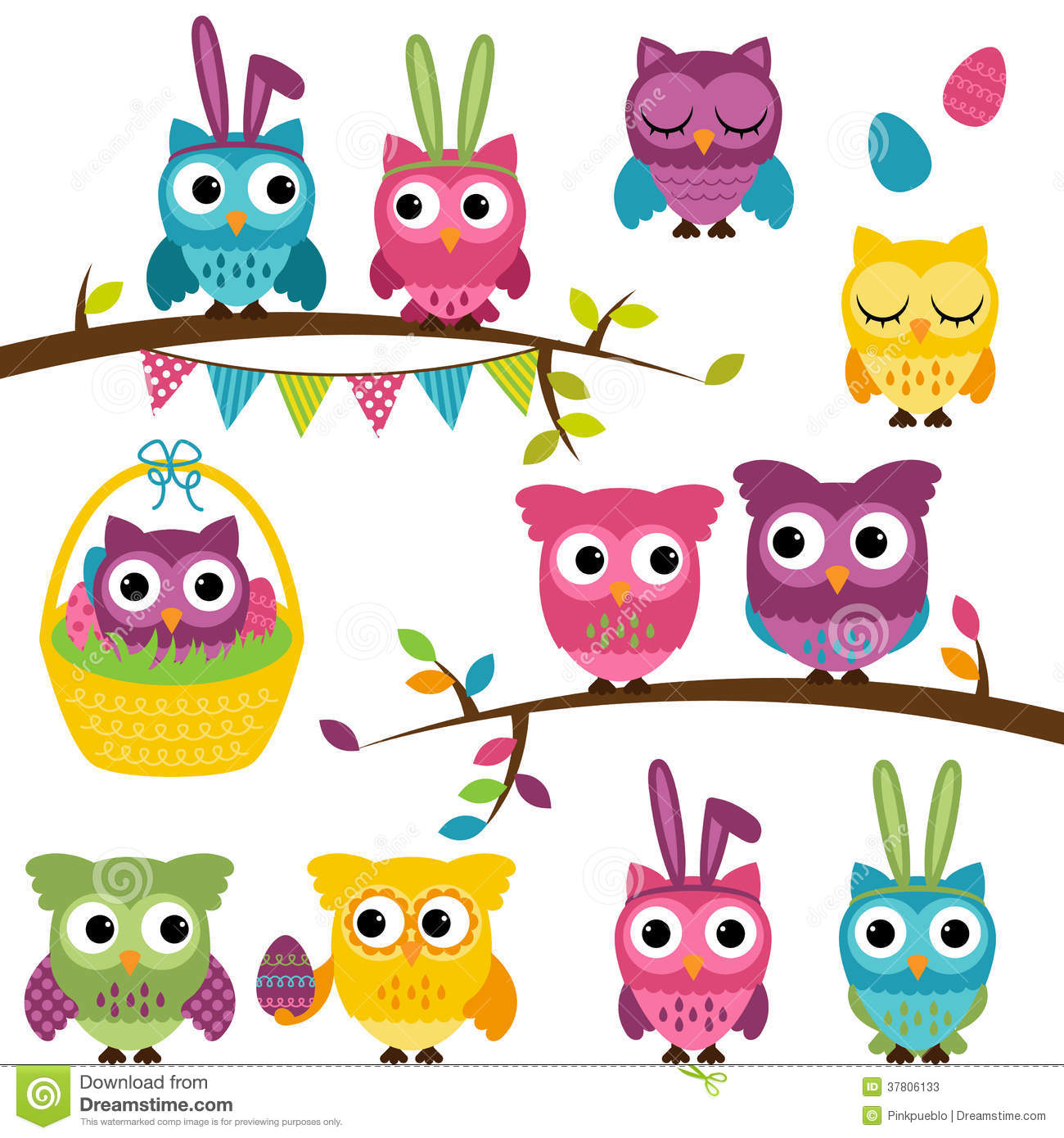 vector-collection-easter-spring-themed-owls-37806133.jpg
