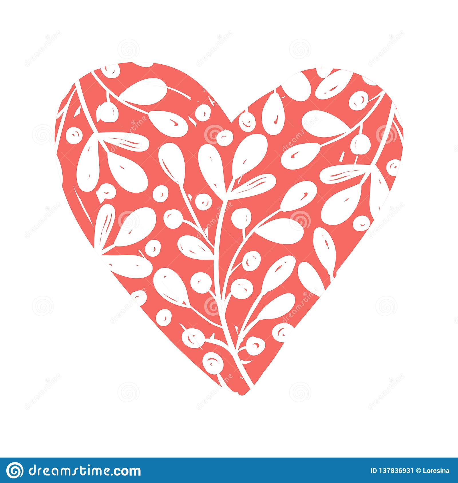 Vector Collections Of Hand Drawn Heart Isolated On Transparent