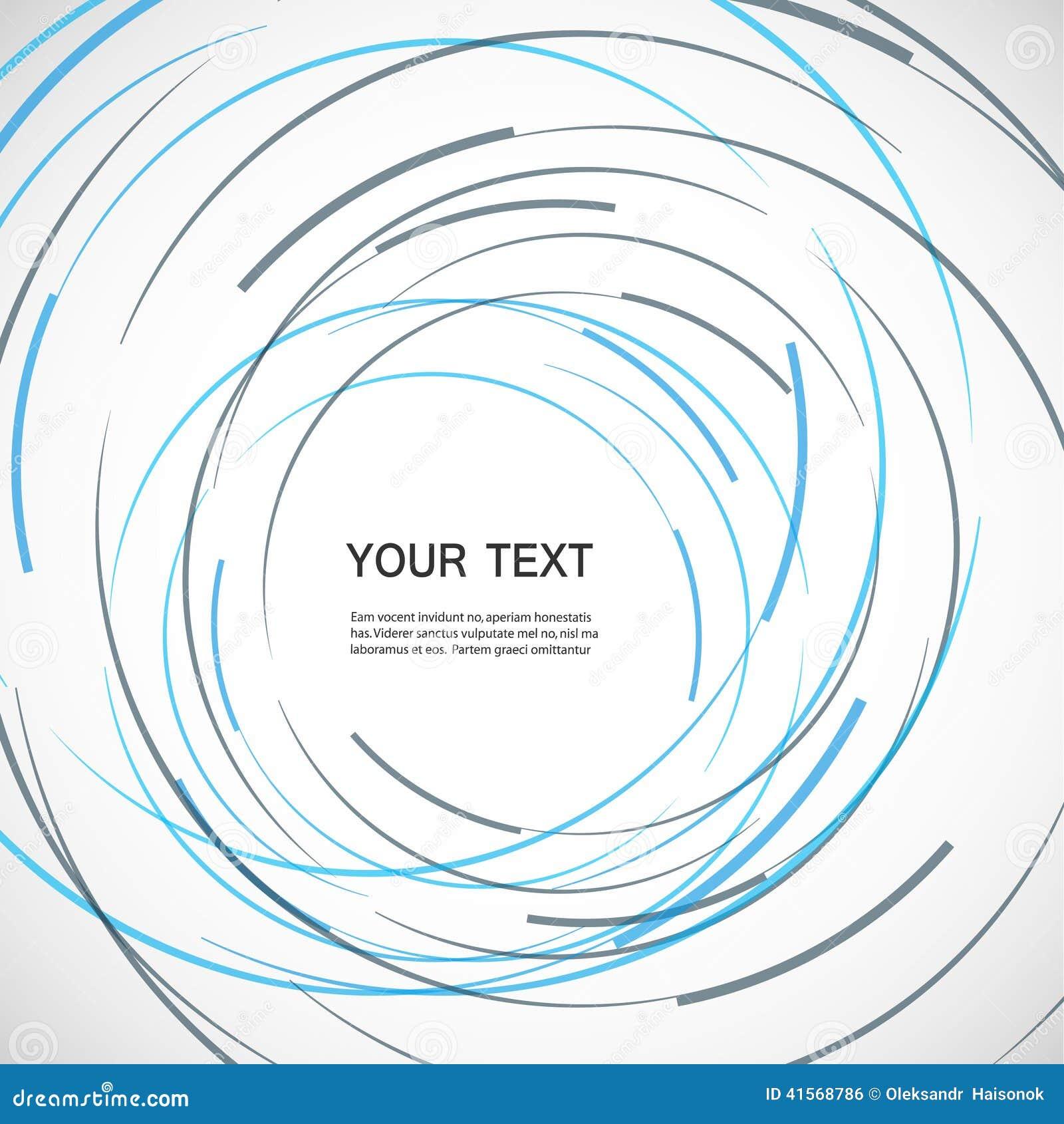 Color Line Design : Vector color line twirl design stock image